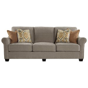 Contemporary Sofa with Reversible UltraPlush Seat Cushions