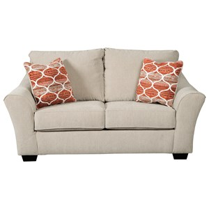 Loveseat in Performance Fabric
