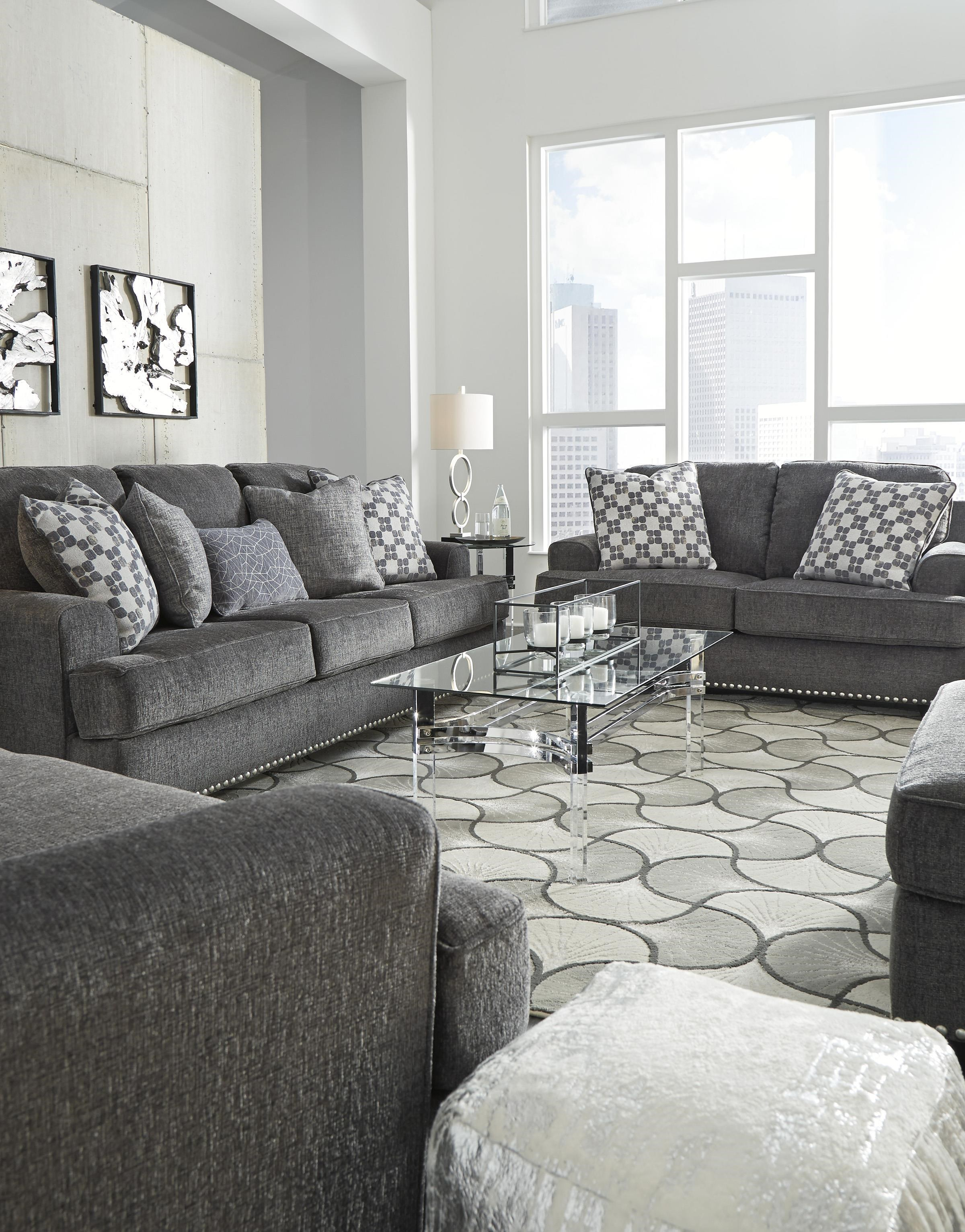 Locklin Sofa, Loveseat and Chair Set by Benchcraft at Sam Levitz Outlet