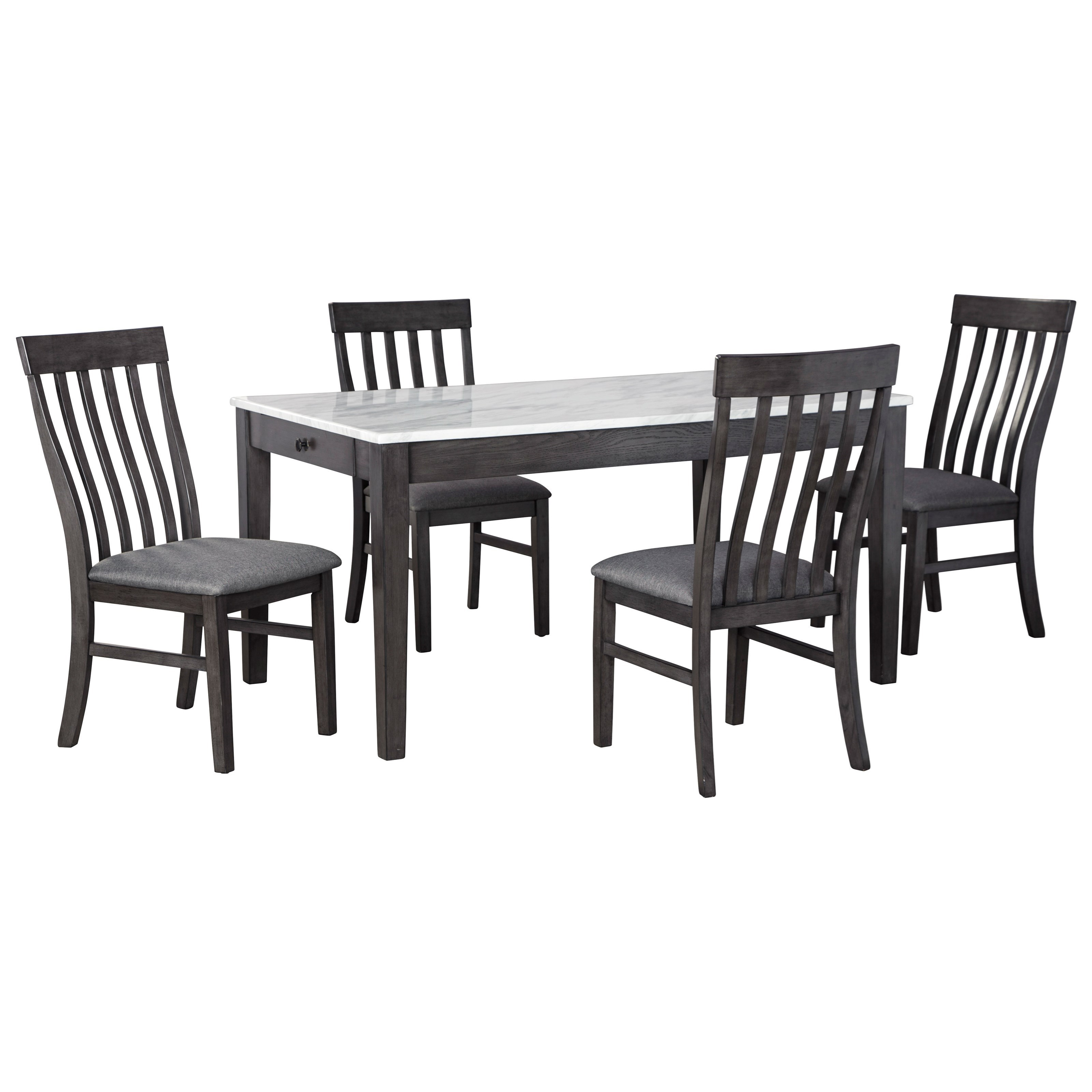 Luvoni 5-Piece Dining Set by Benchcraft at HomeWorld Furniture