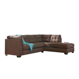 2-Piece Sectional w/ Sleeper Sofa & Chaise