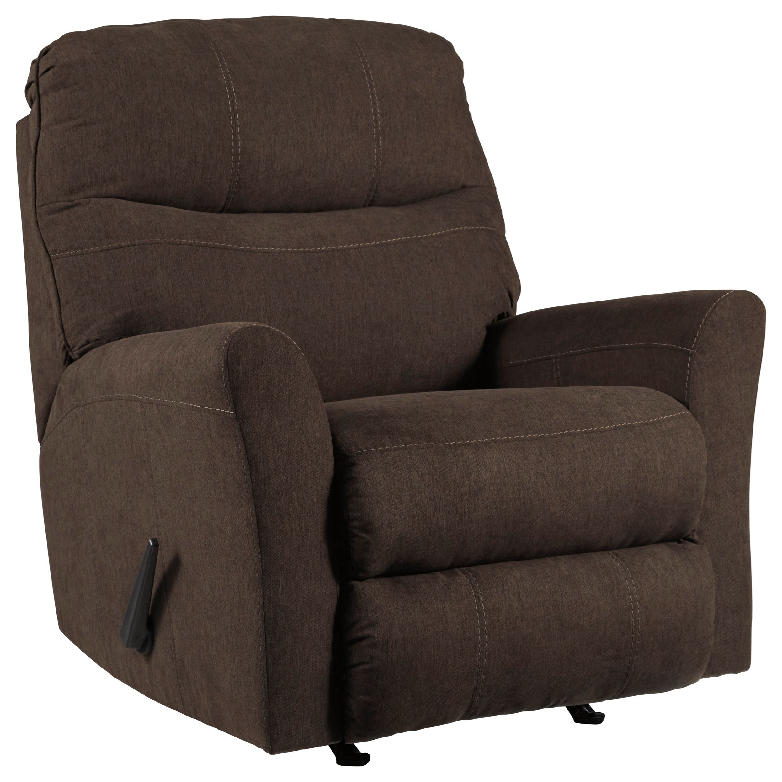 Mayberry Rocker Recliner by Benchcraft at Walker's Furniture