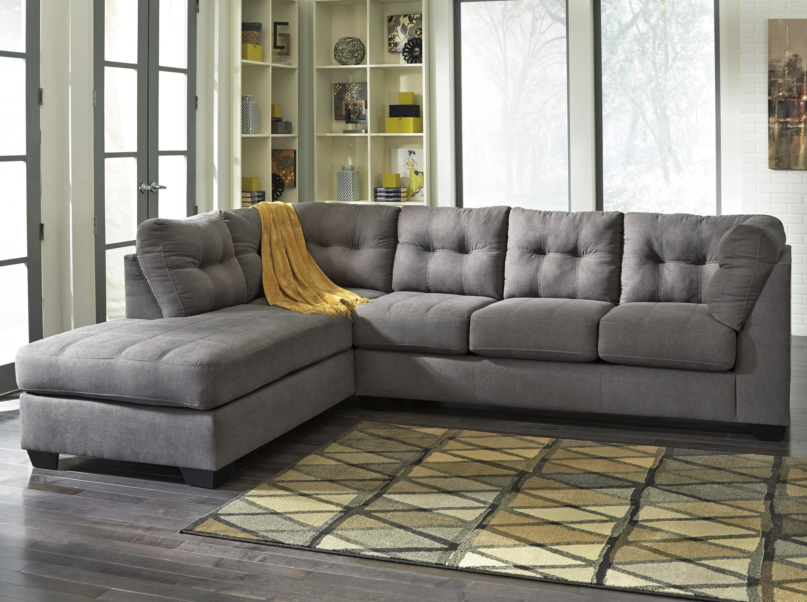 Mayberry 2-Piece Sectional with Chaise by Benchcraft at Walker's Furniture