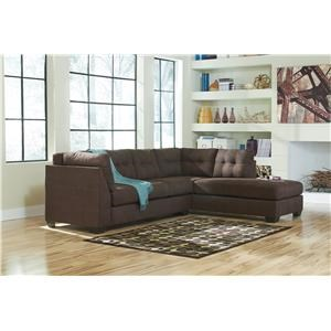 2 Piece Sectional and Recliner Set