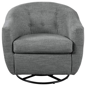 Mid-Century Modern Swivel Accent Chair
