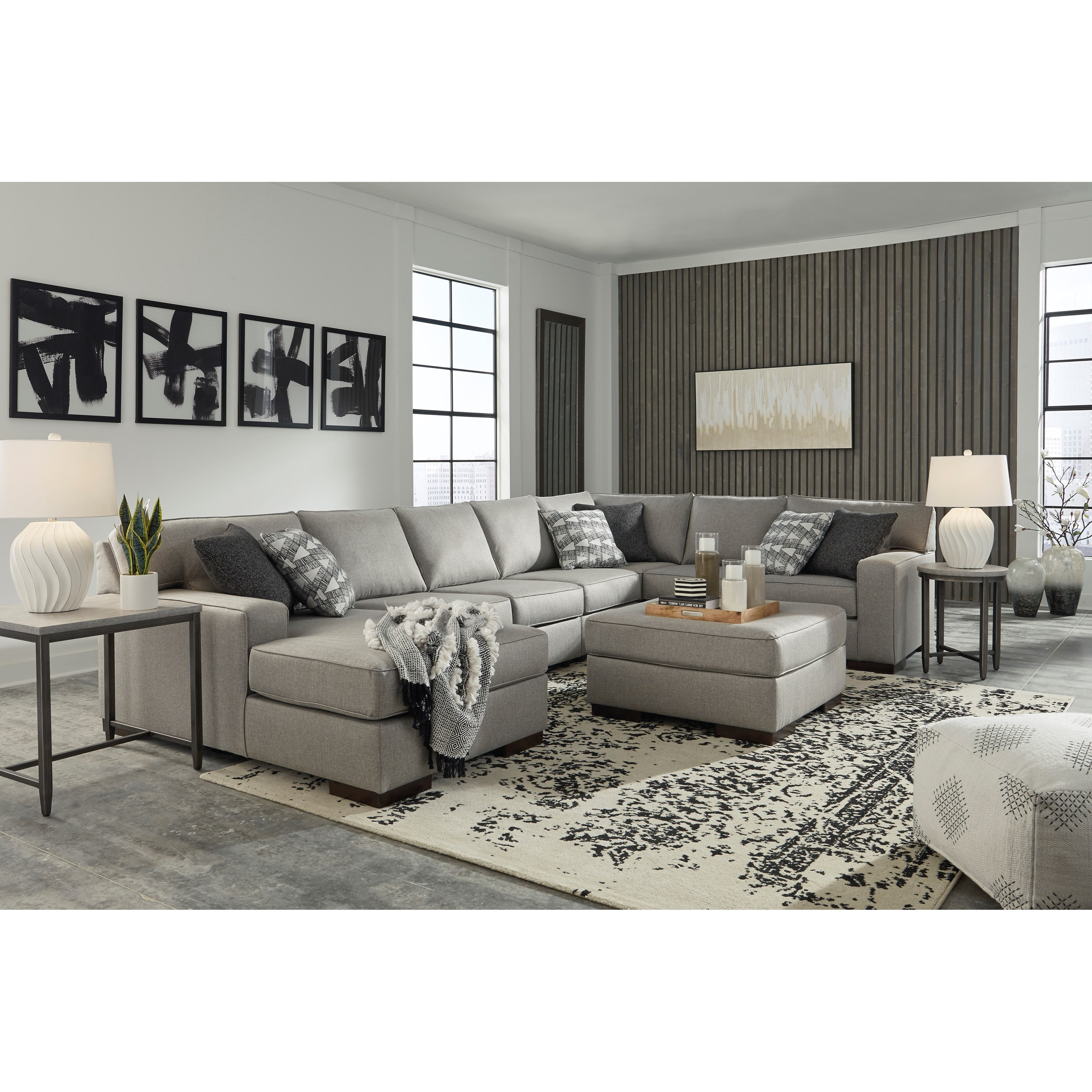 Marsing Nuvella Living Room Group by Benchcraft at Northeast Factory Direct