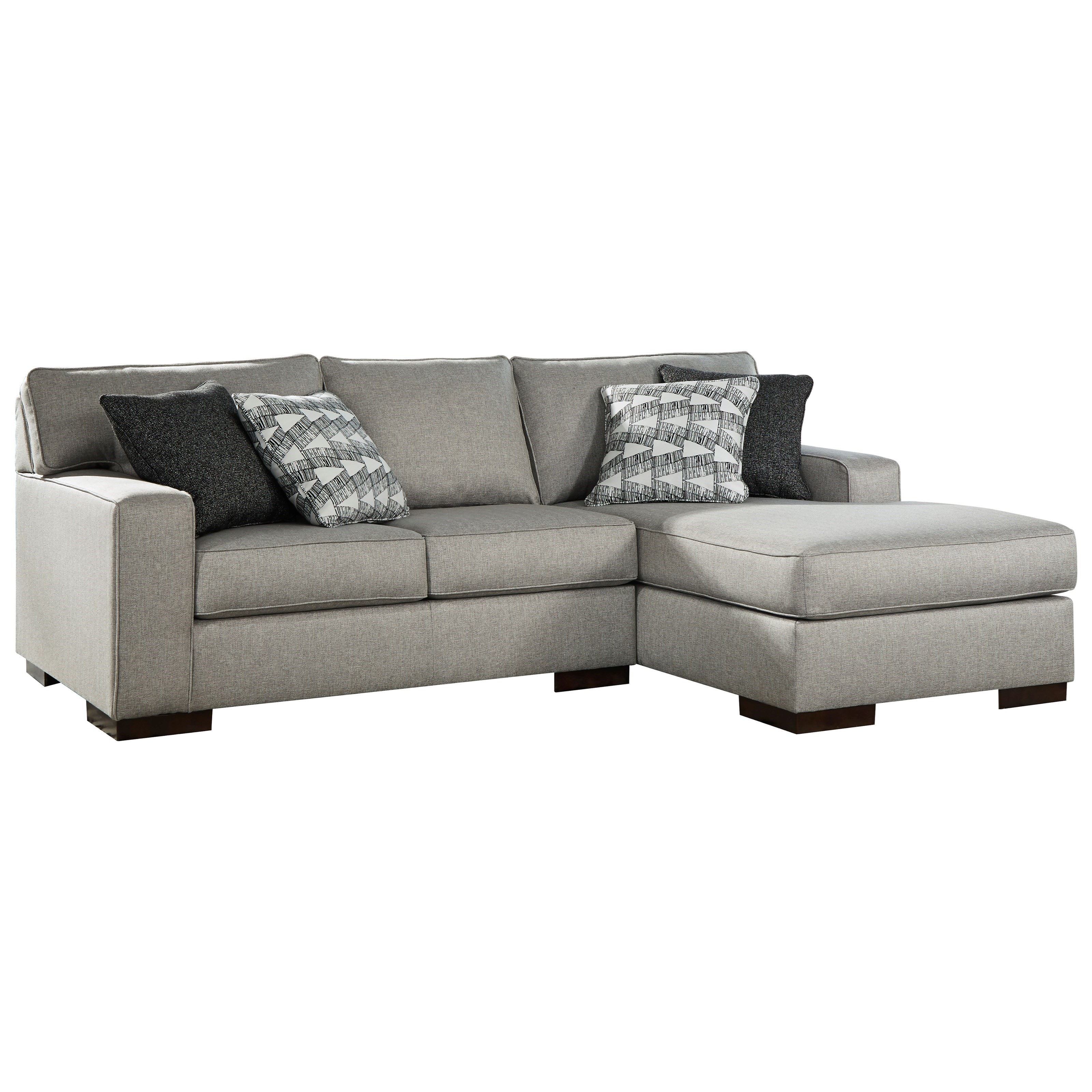 Marsing Nuvella 2-Piece Sectional with Chaise by Benchcraft at Value City Furniture