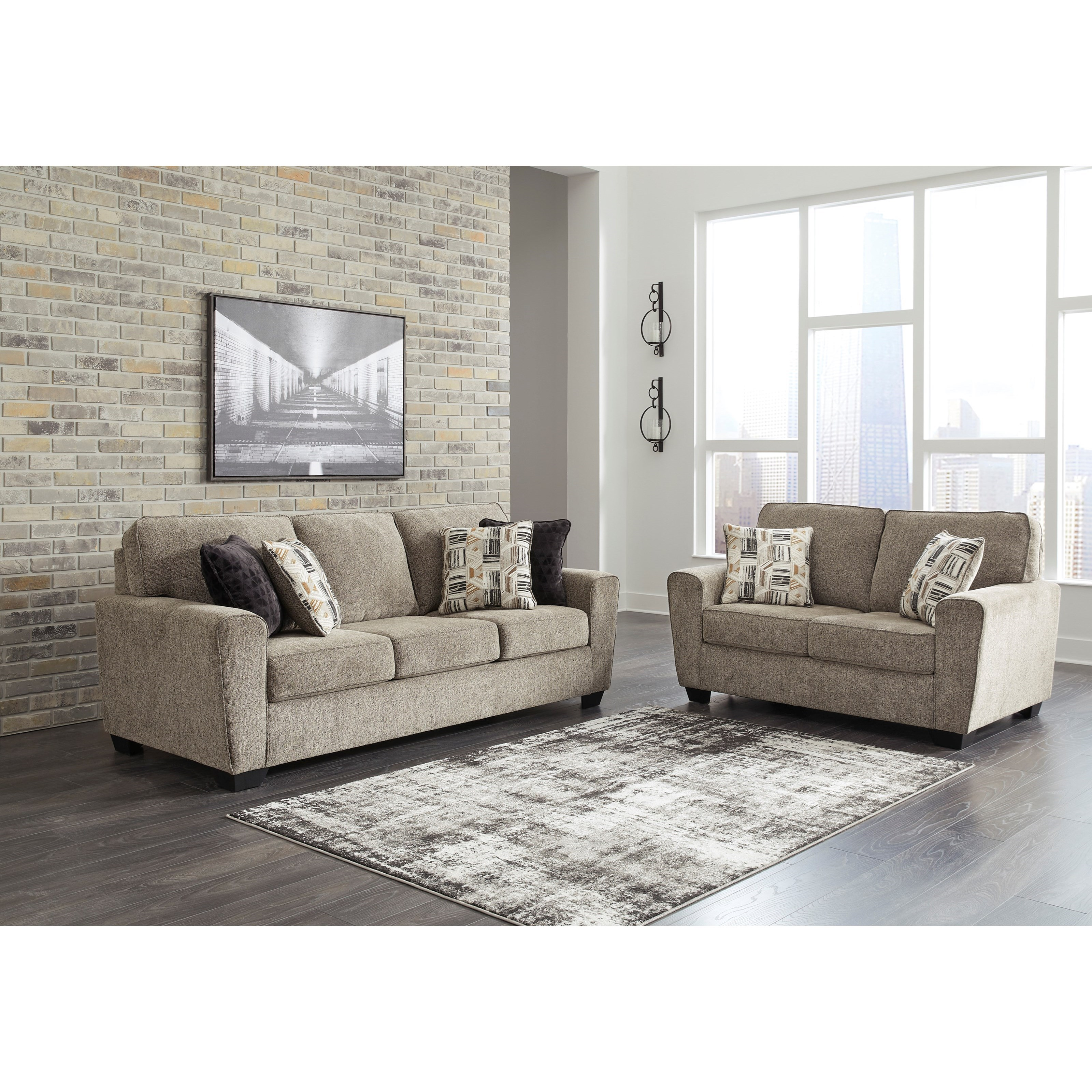McCluer Living Room Group by Benchcraft at Zak's Warehouse Clearance Center