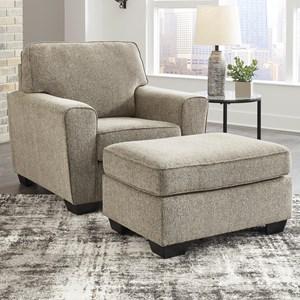 Casual Chair & Ottoman