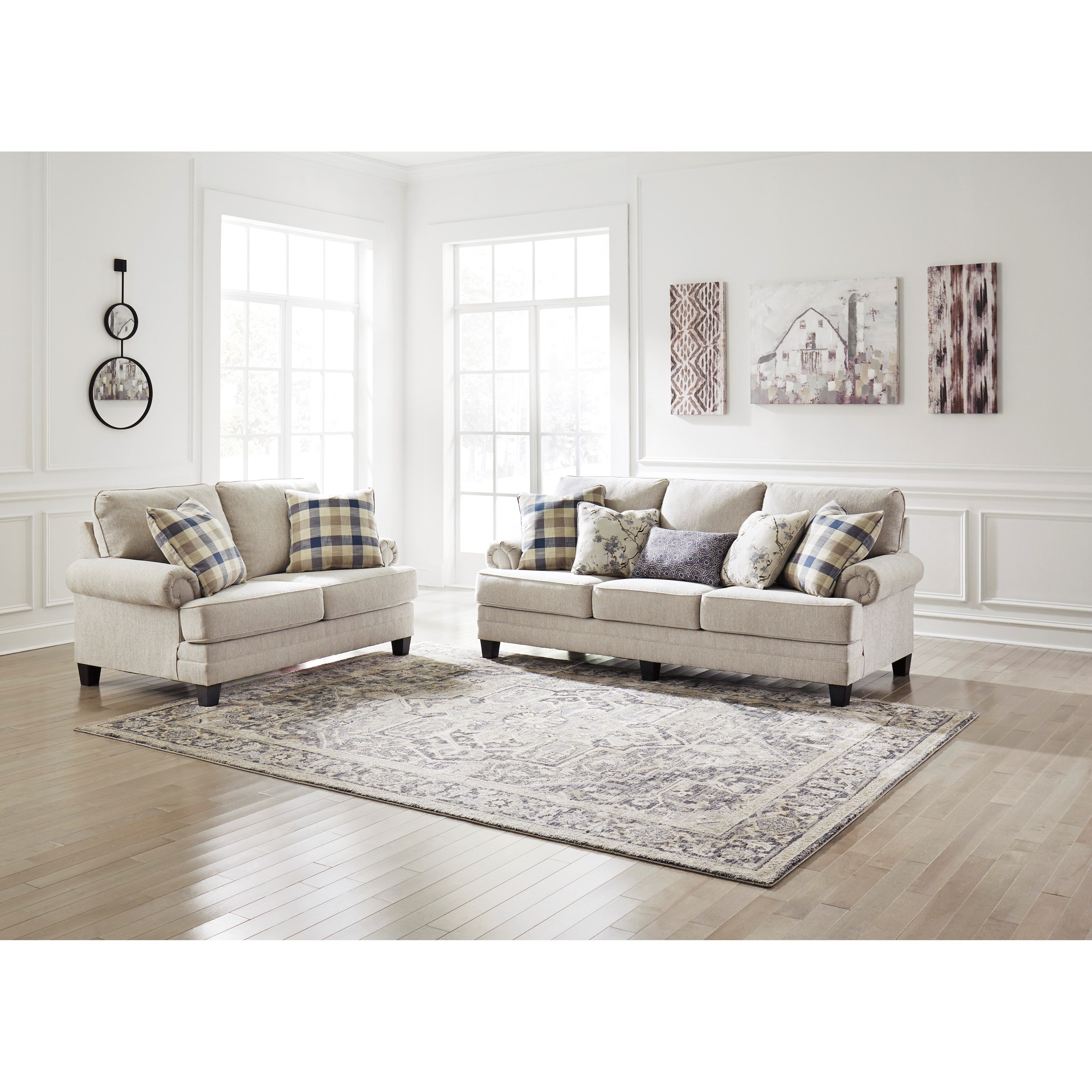 Meggett Living Room Group by Benchcraft at Rooms and Rest