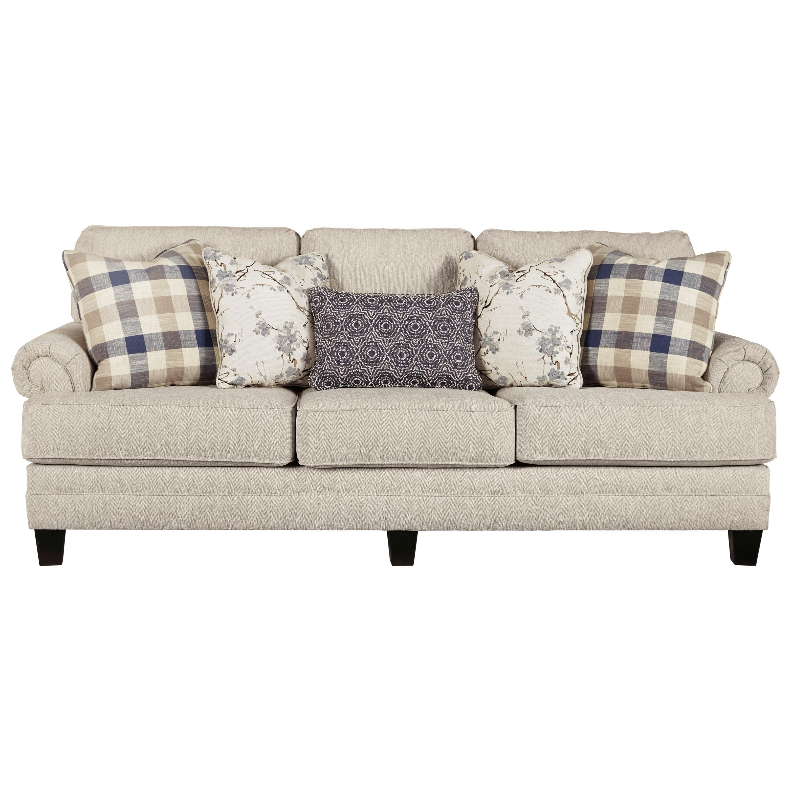 Meggett Queen Sofa Sleeper by Benchcraft at Zak's Warehouse Clearance Center