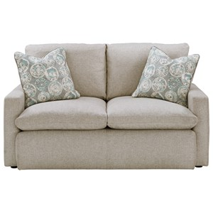 Loveseat with Feather Blend Cushions