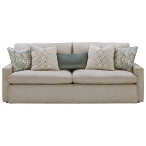 Sofa with Feather Blend Cushions