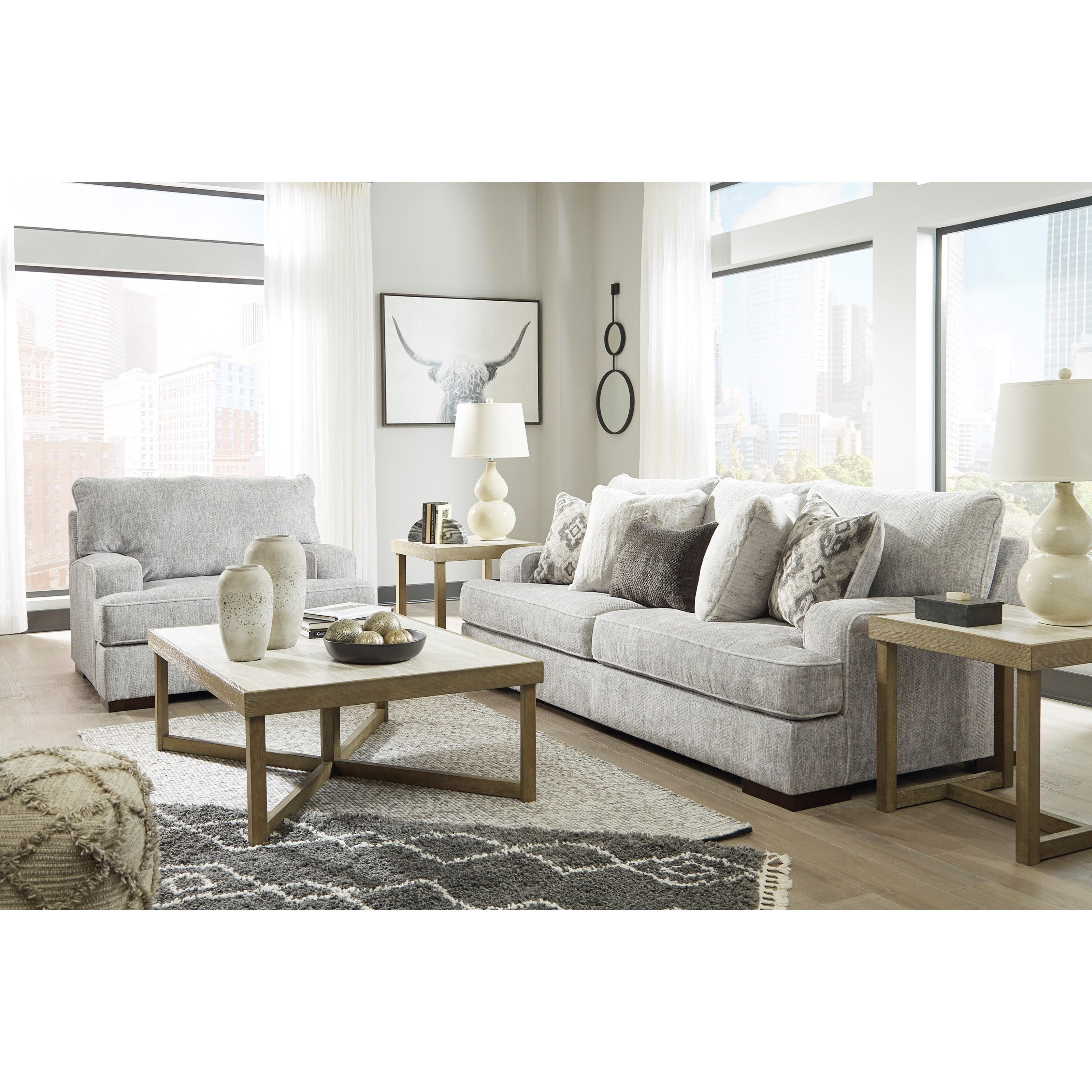 Mercado Stationary Living Room Group by Benchcraft at Northeast Factory Direct
