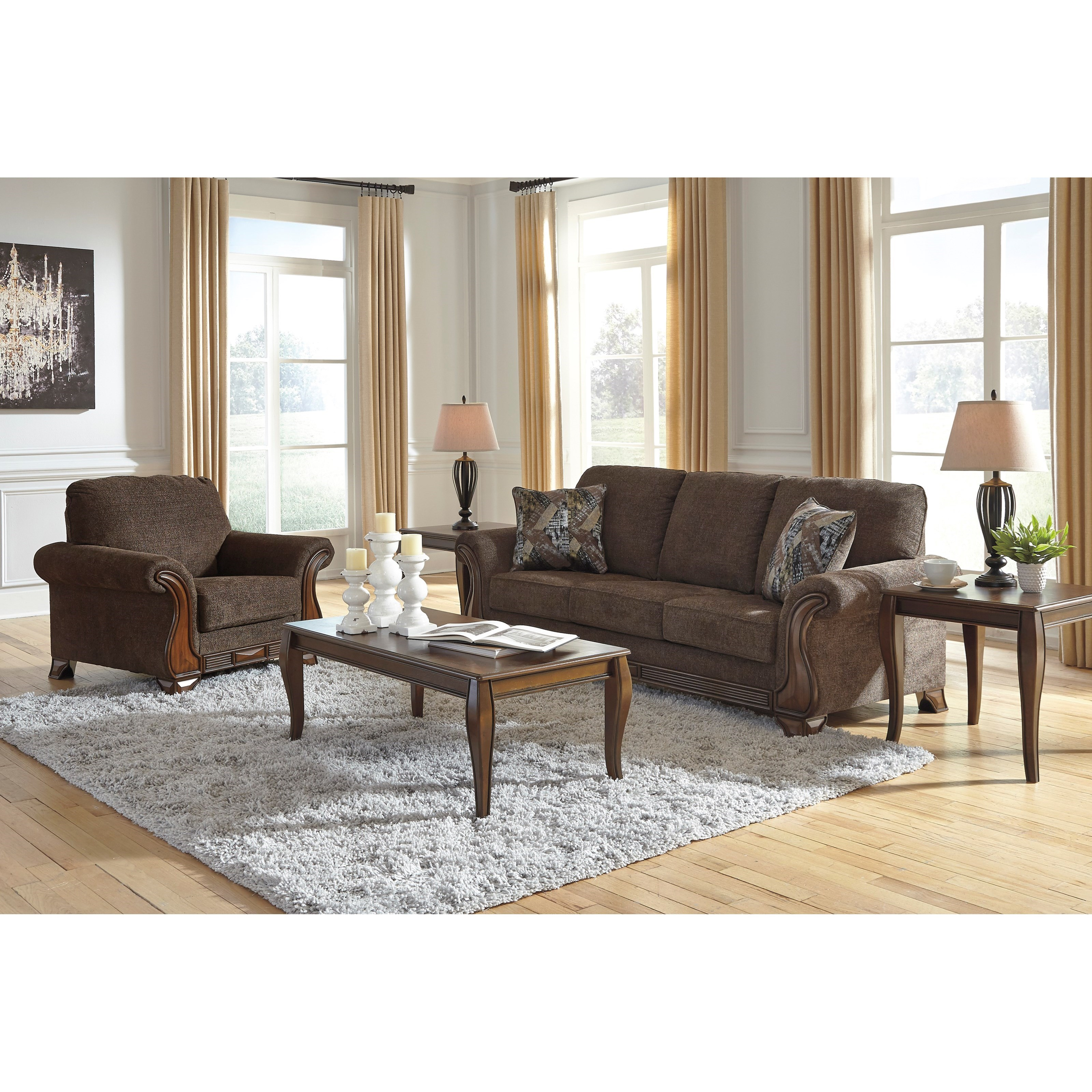 Miltonwood Living Room Group by Benchcraft at Northeast Factory Direct