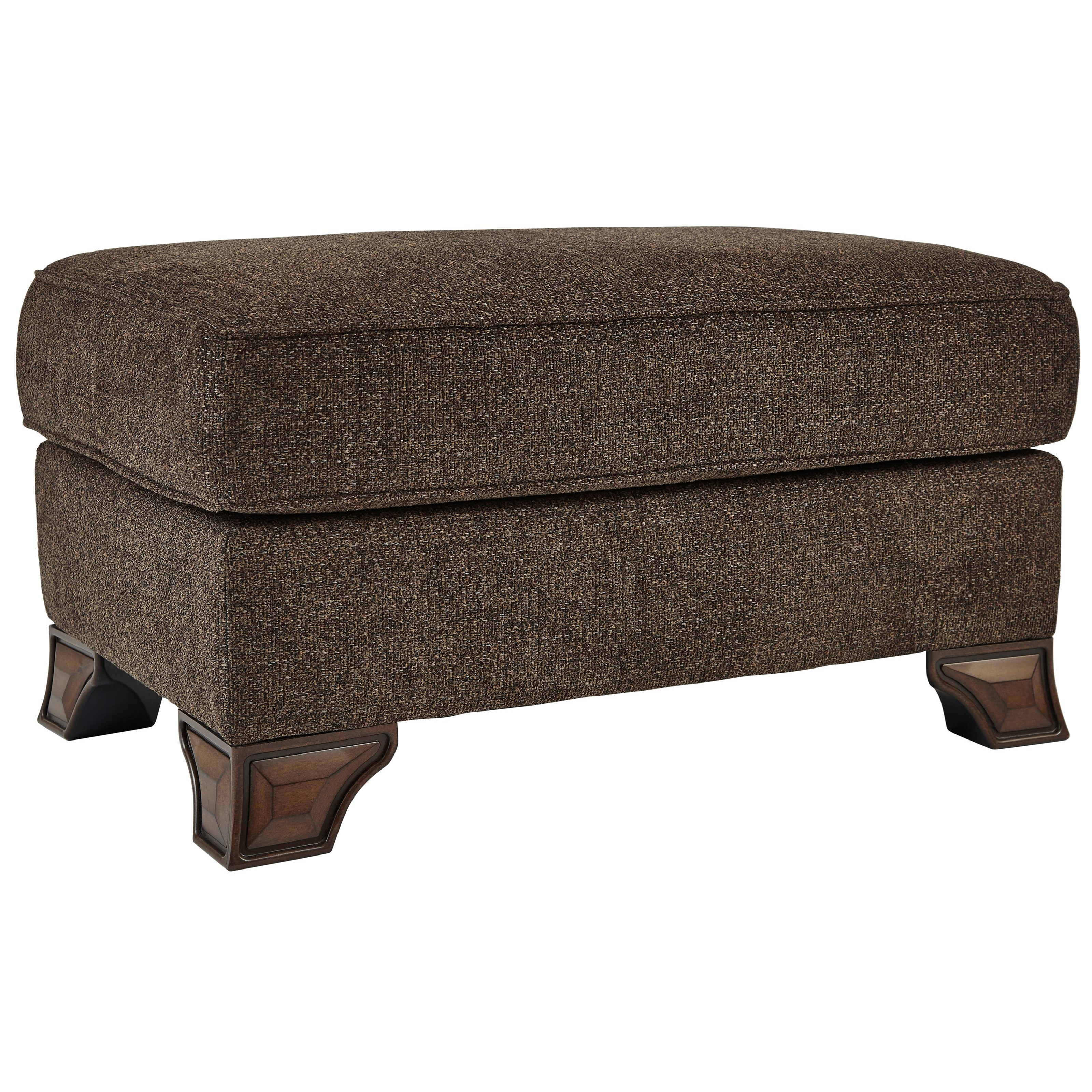 Miltonwood Ottoman by Benchcraft at Walker's Furniture
