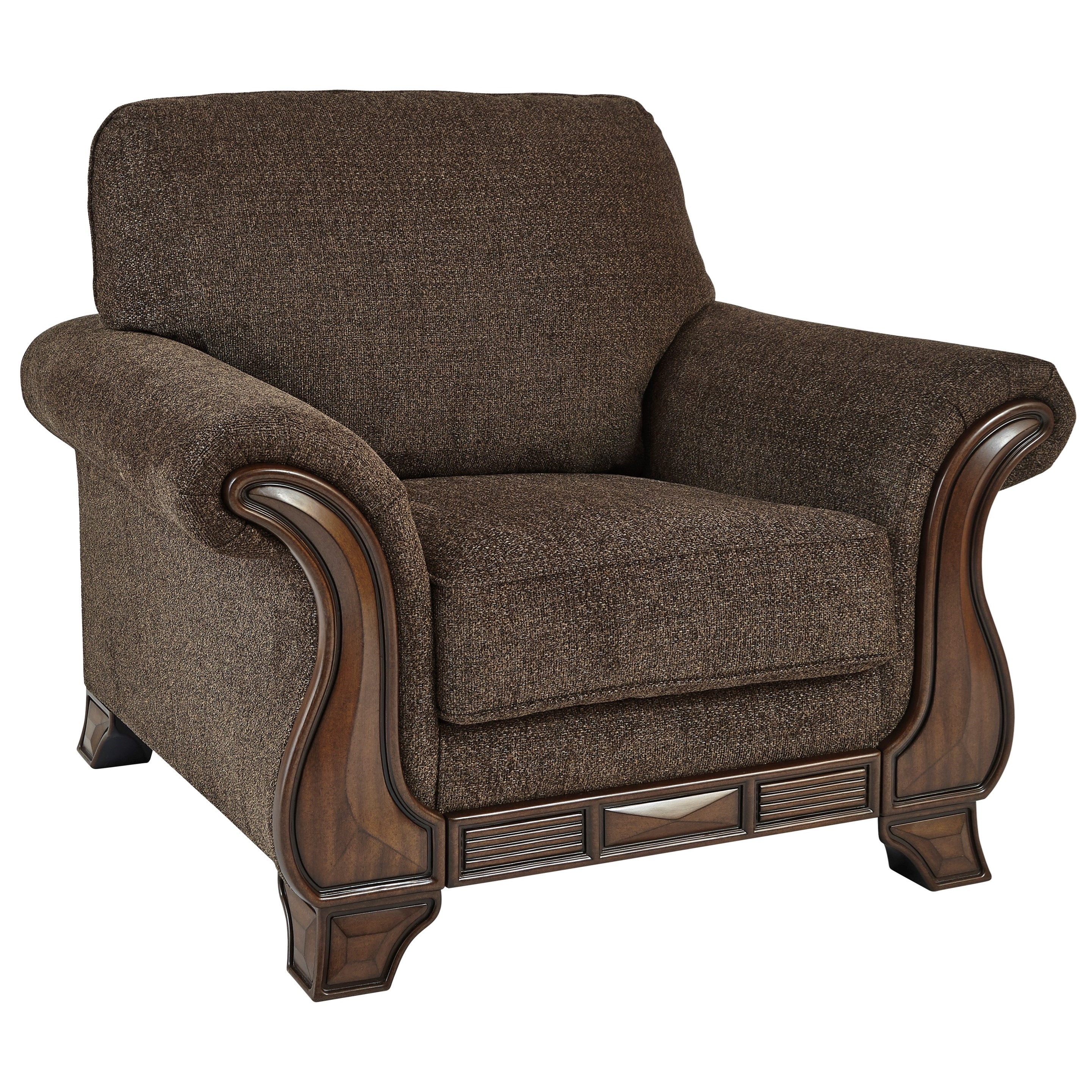 Miltonwood Chair by Benchcraft at Walker's Furniture