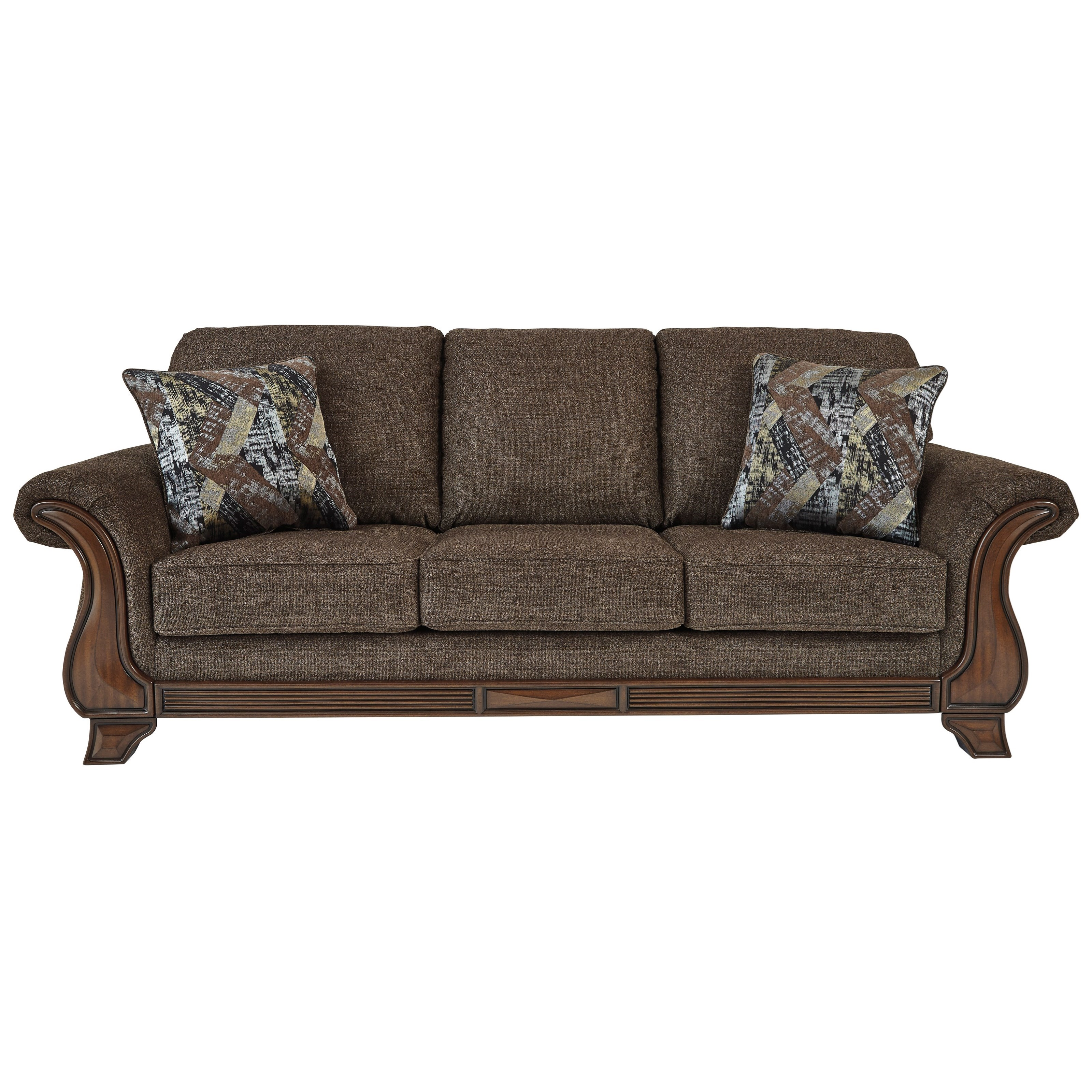 Miltonwood Sofa by Benchcraft at Beck's Furniture