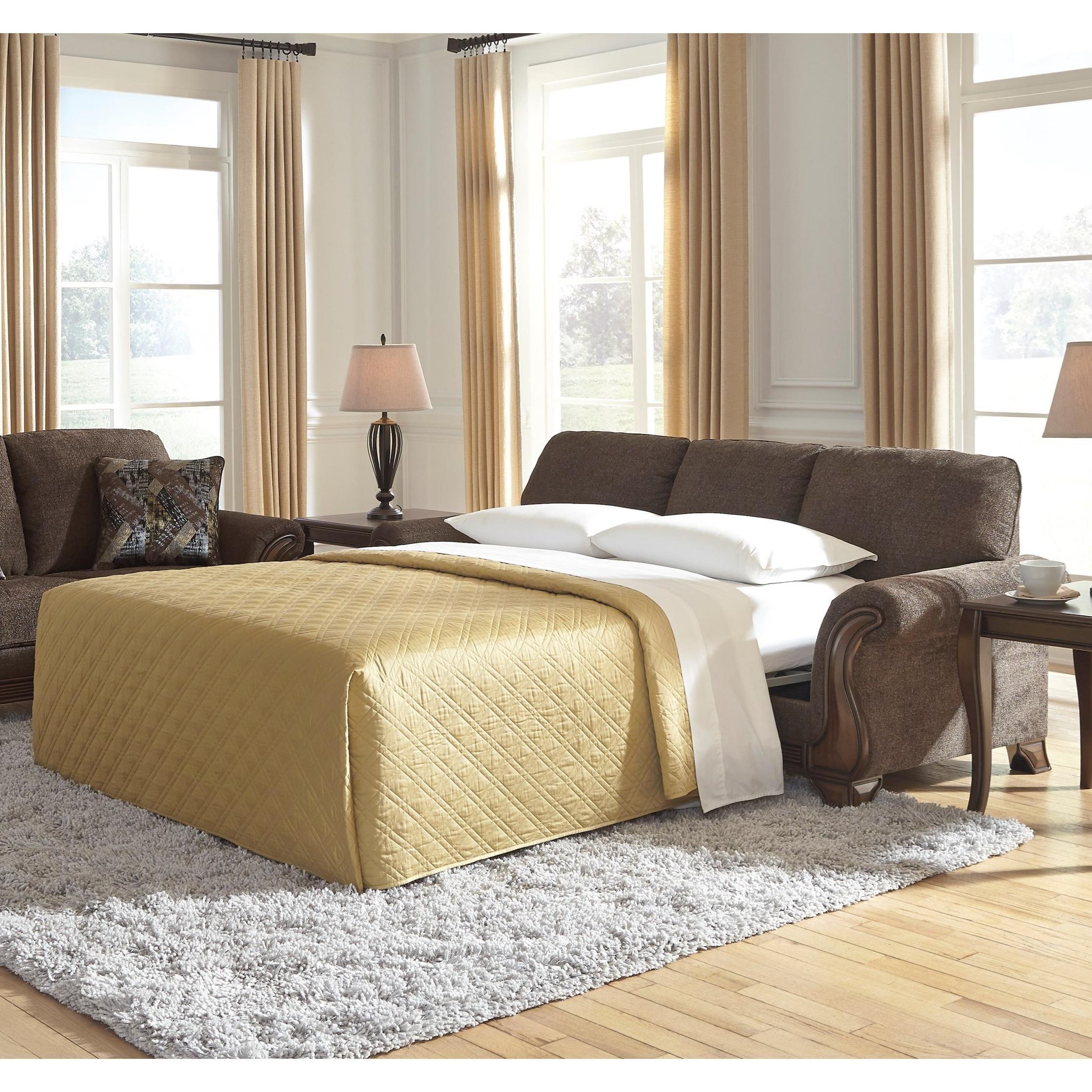 Miltonwood Queen Sofa Sleeper by Benchcraft at Walker's Furniture