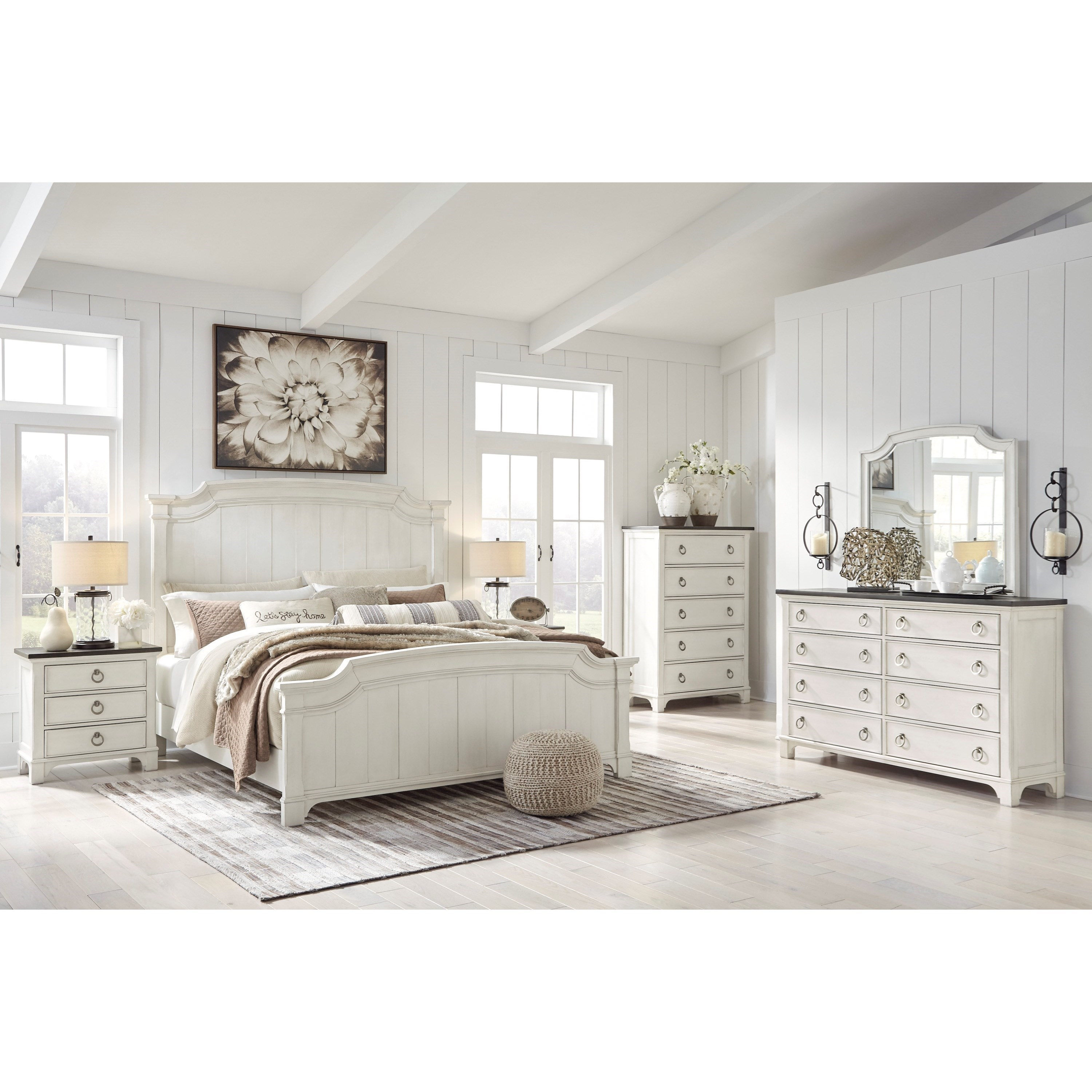 Nashbryn Queen Bedroom Group by Benchcraft at Miller Waldrop Furniture and Decor