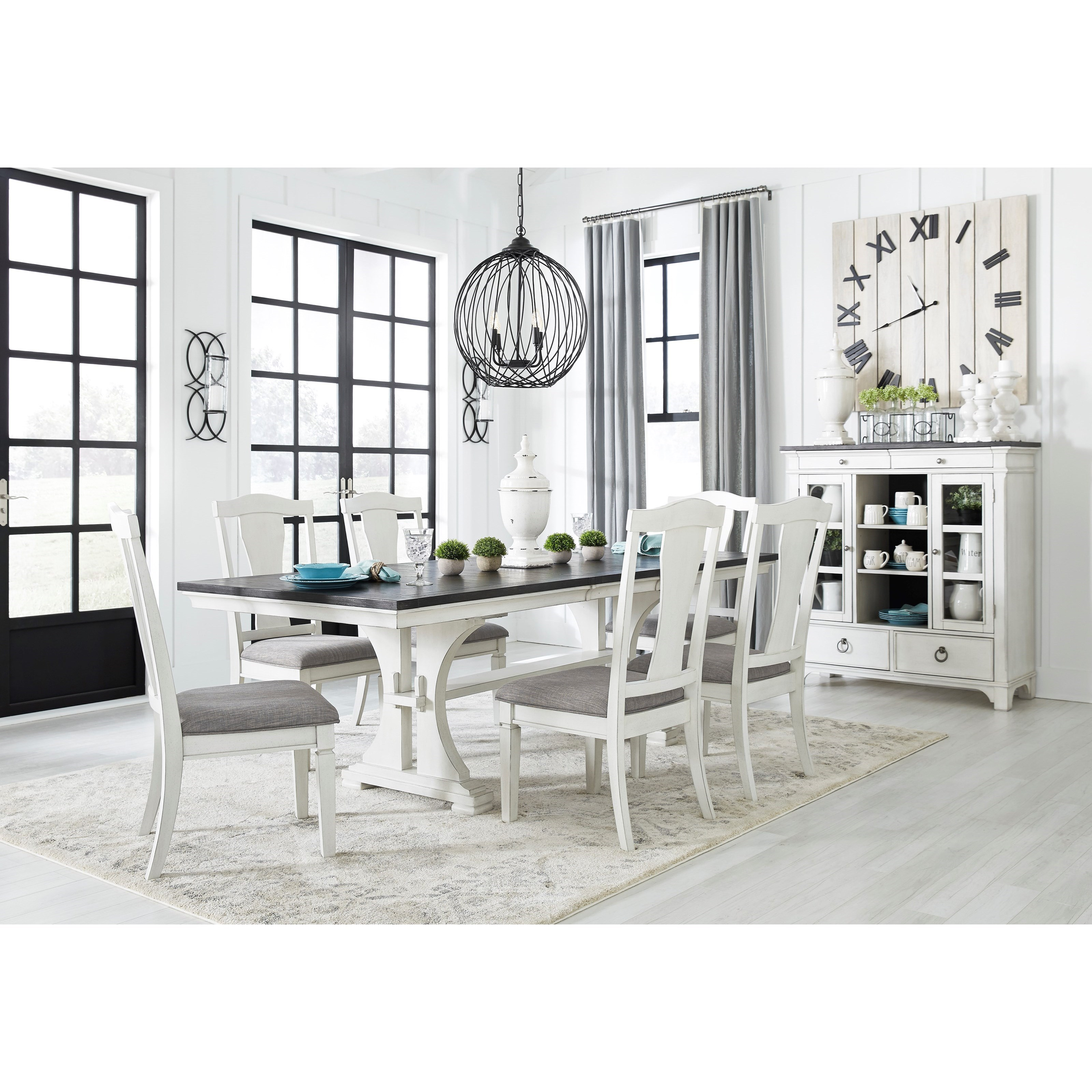 Nashbryn Dining Room Group by Benchcraft at Northeast Factory Direct