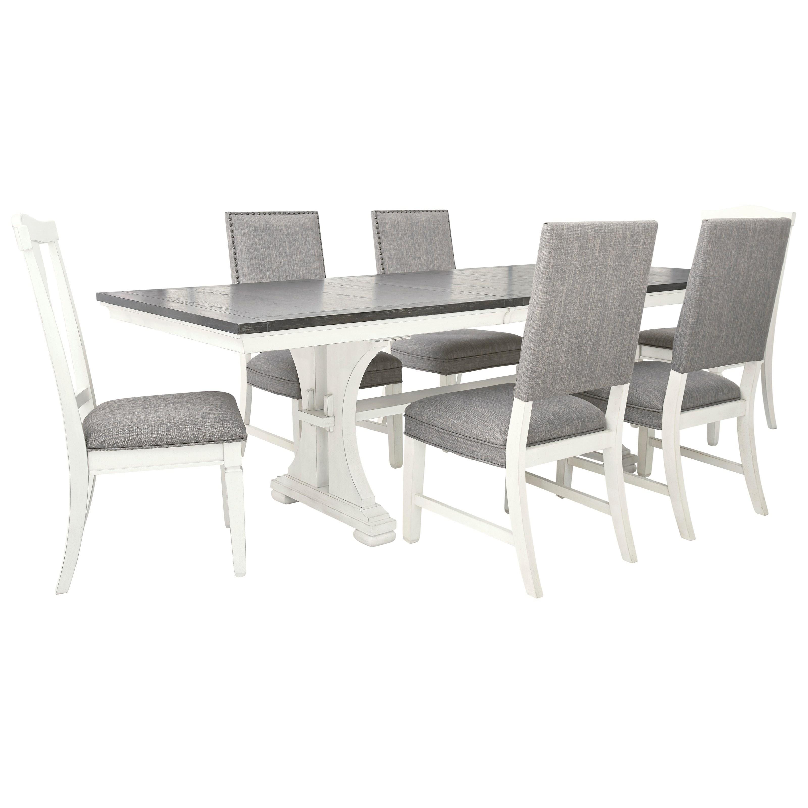 Nashbryn Dining Set by Benchcraft at Walker's Furniture