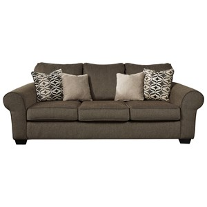 Sofa with Rolled Arms