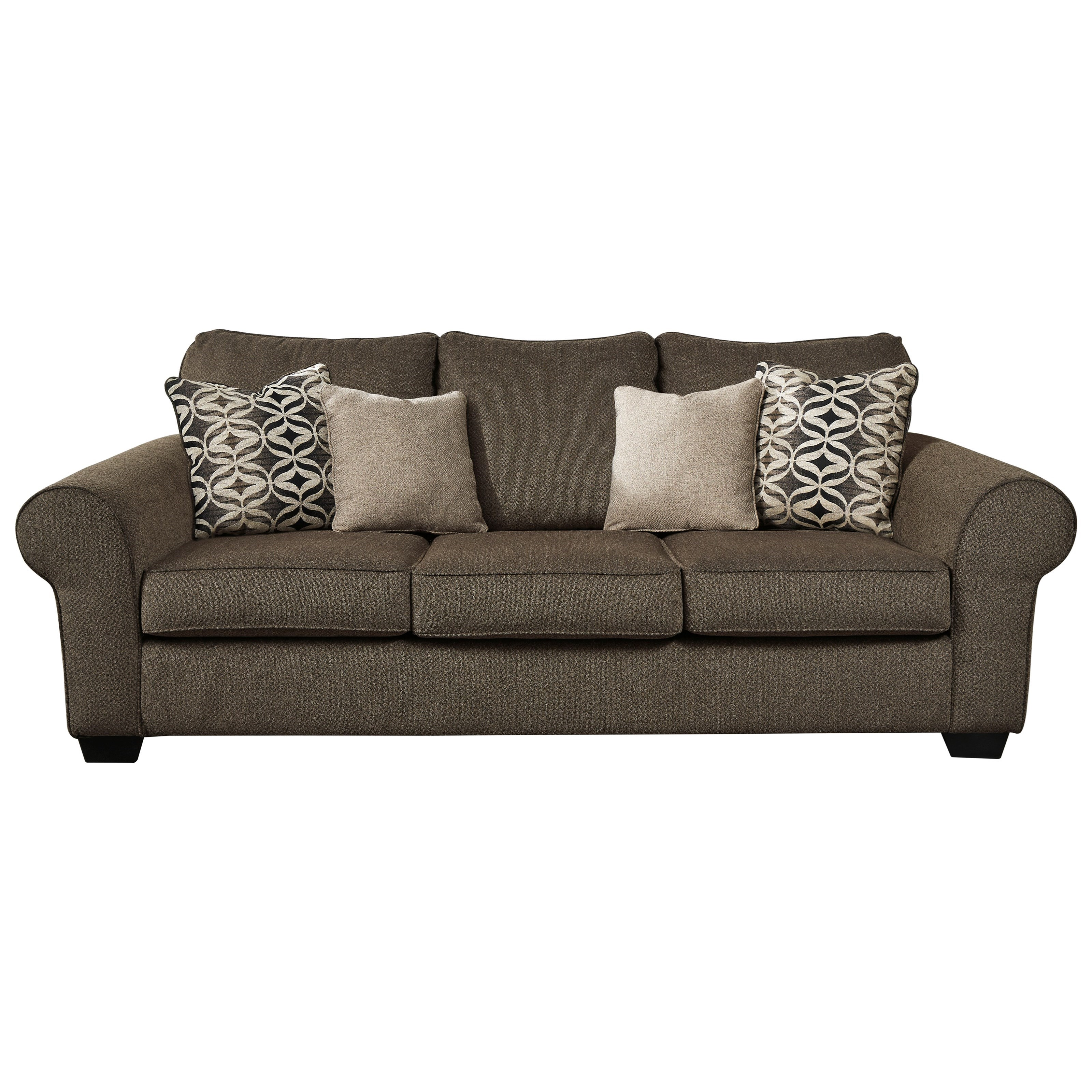 Nesso Queen Sofa Sleeper by Benchcraft at Walker's Furniture
