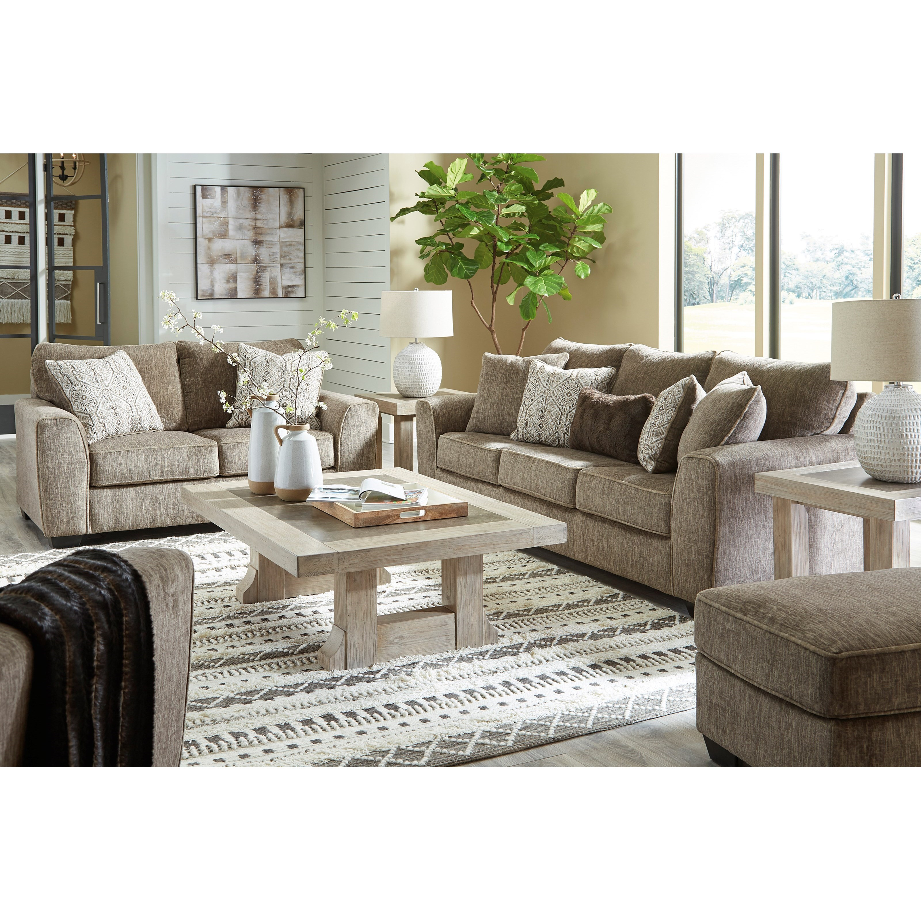 Olin Living Room Group by Benchcraft at Zak's Warehouse Clearance Center