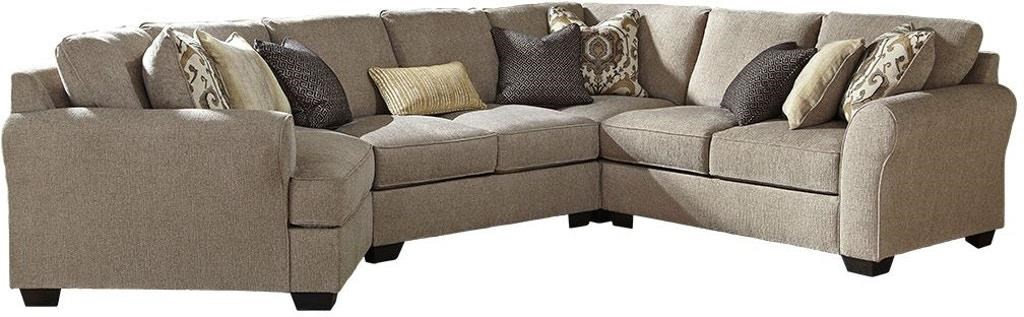 Pantomine 4-Piece Sectional with Left Cuddler by Benchcraft at Value City Furniture