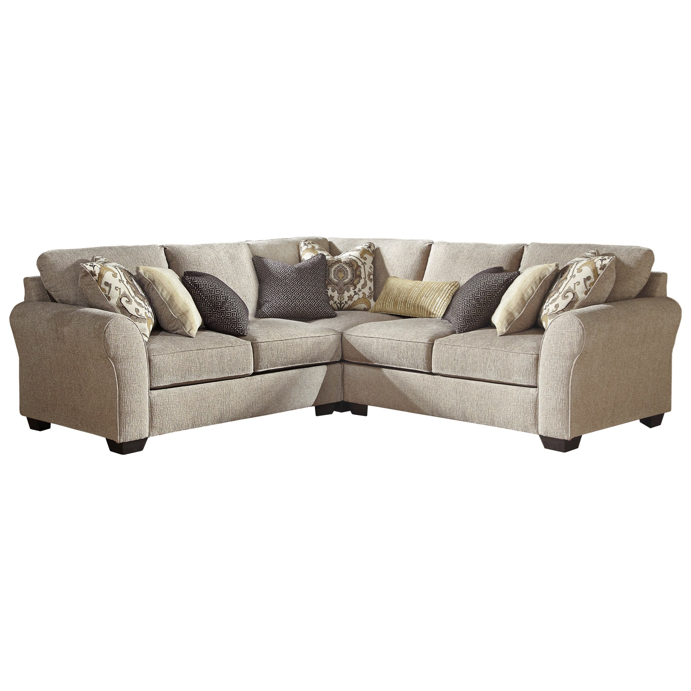 Pantomine 3-Piece Sectional by Benchcraft at Walker's Furniture