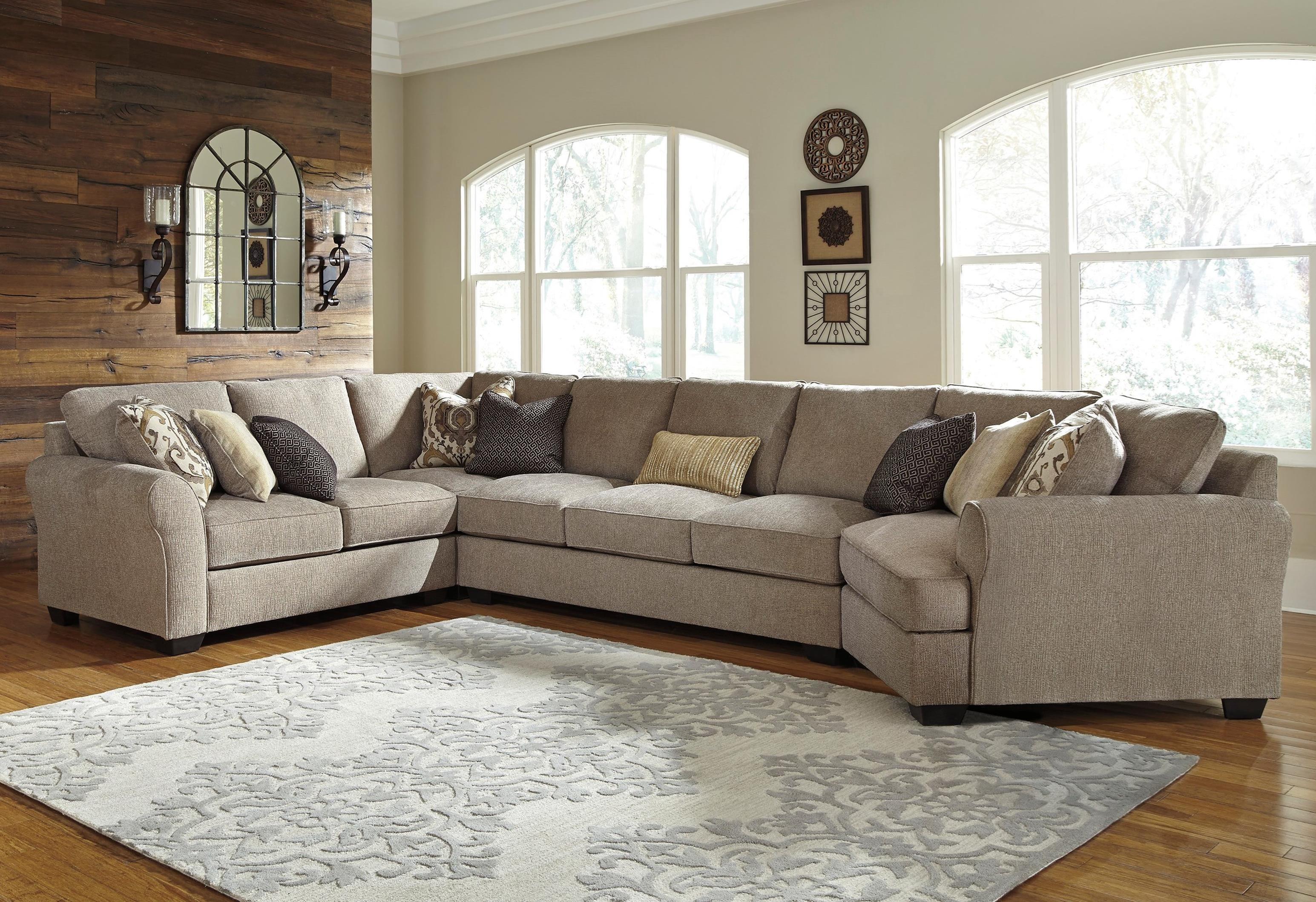 Pantomine 4-Piece Sectional with Cuddler by Benchcraft at Value City Furniture