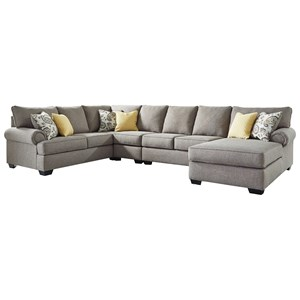 Casual 4-Piece Sectional