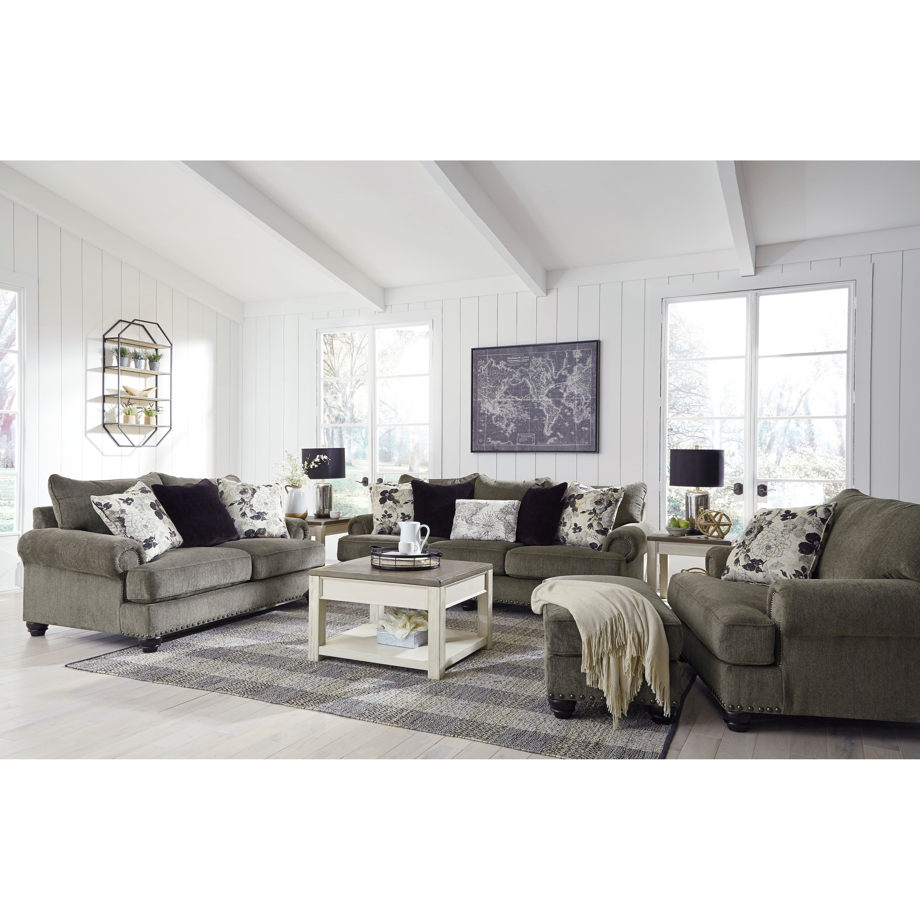 Sembler Living Room Group by Benchcraft at Household Furniture
