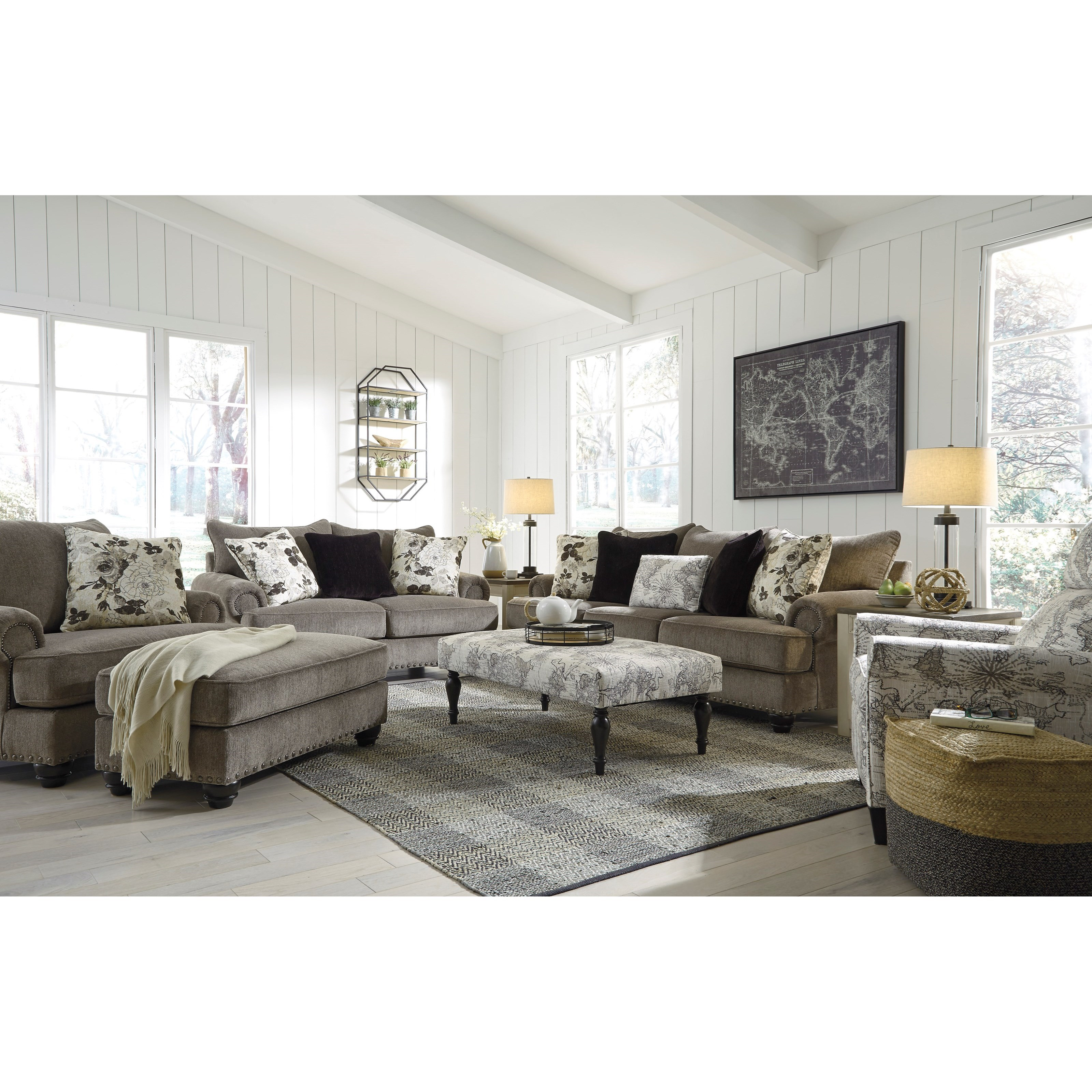 Sembler Living Room Group by Benchcraft at Walker's Furniture