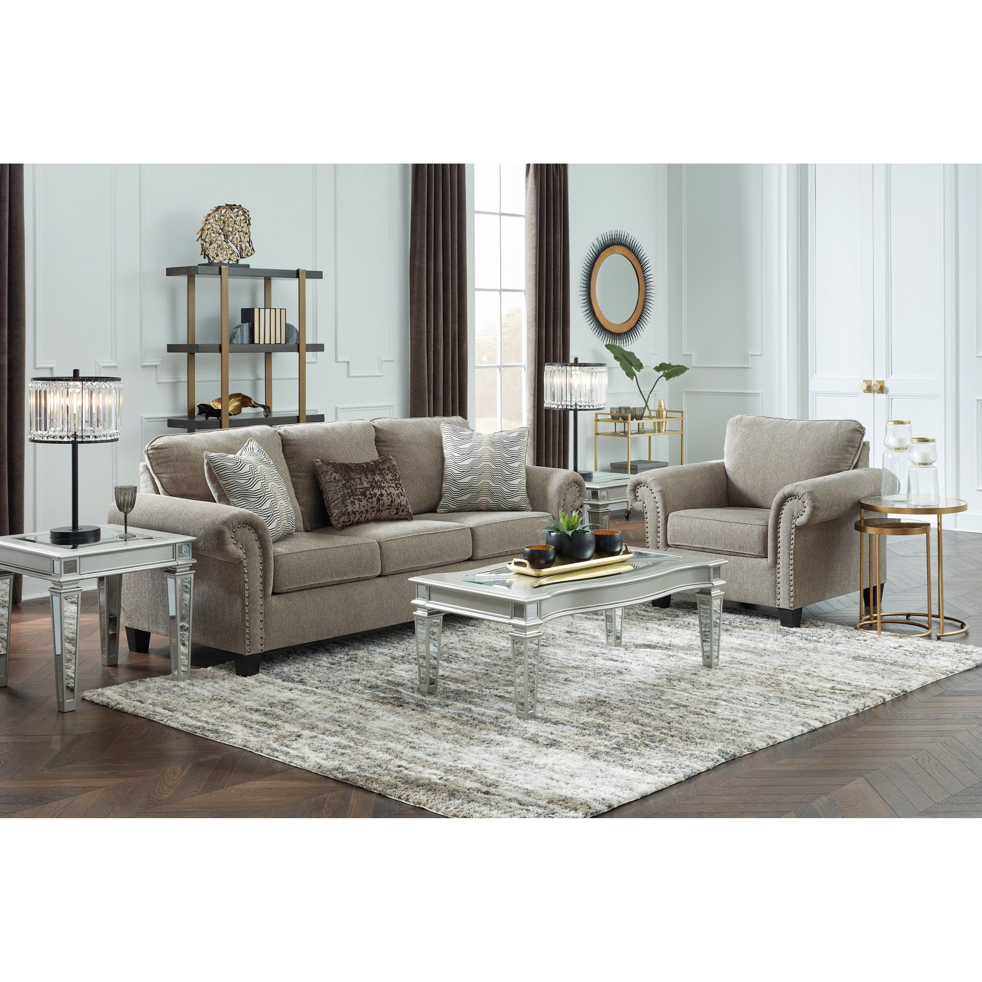 Shewsbury Living Room Group by Benchcraft at Pilgrim Furniture City