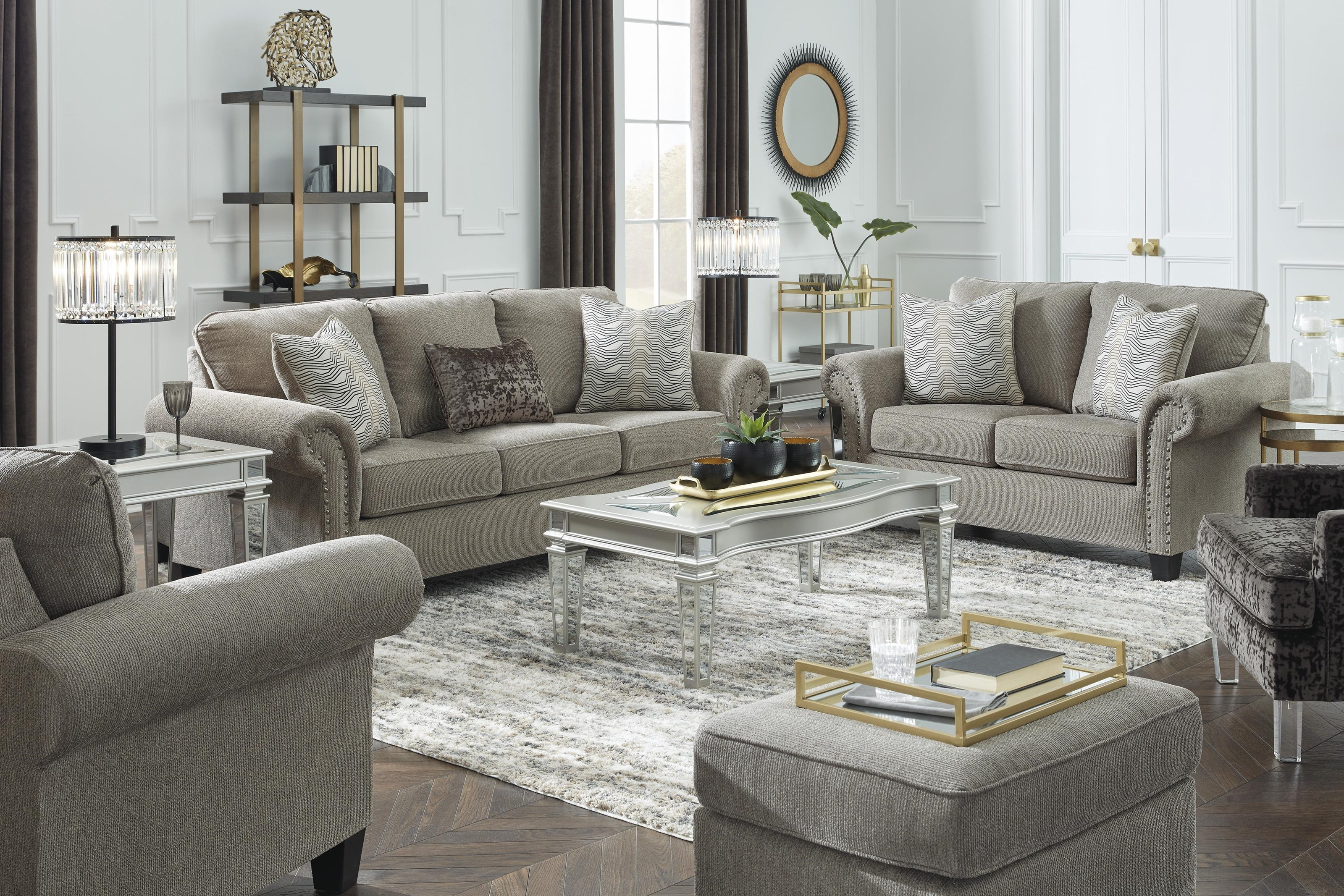Shewsbury Sofa, Loveseat and Chair Set by Benchcraft at Sam Levitz Outlet