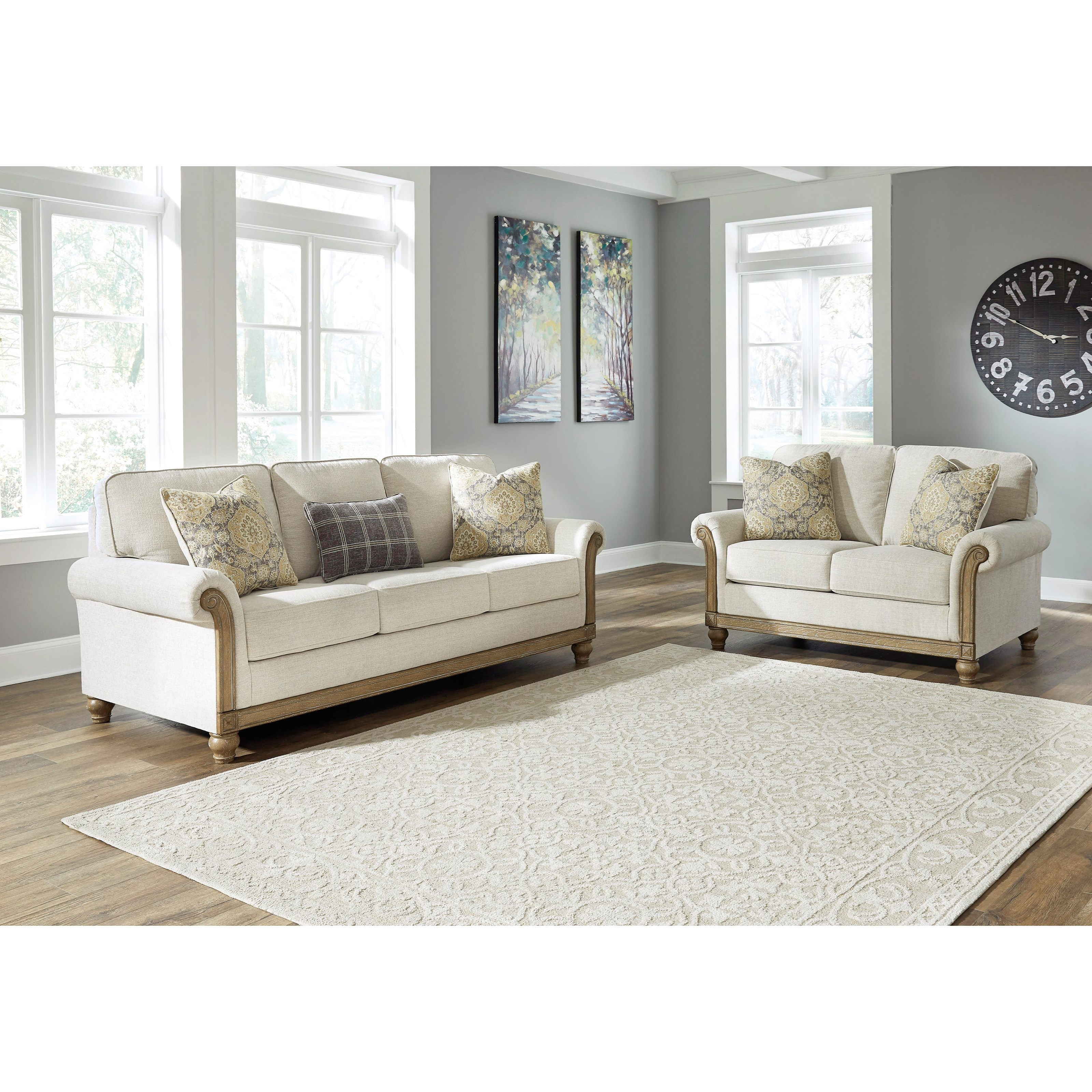 Stoneleigh  Living Room Group by Ashley at Godby Home Furnishings