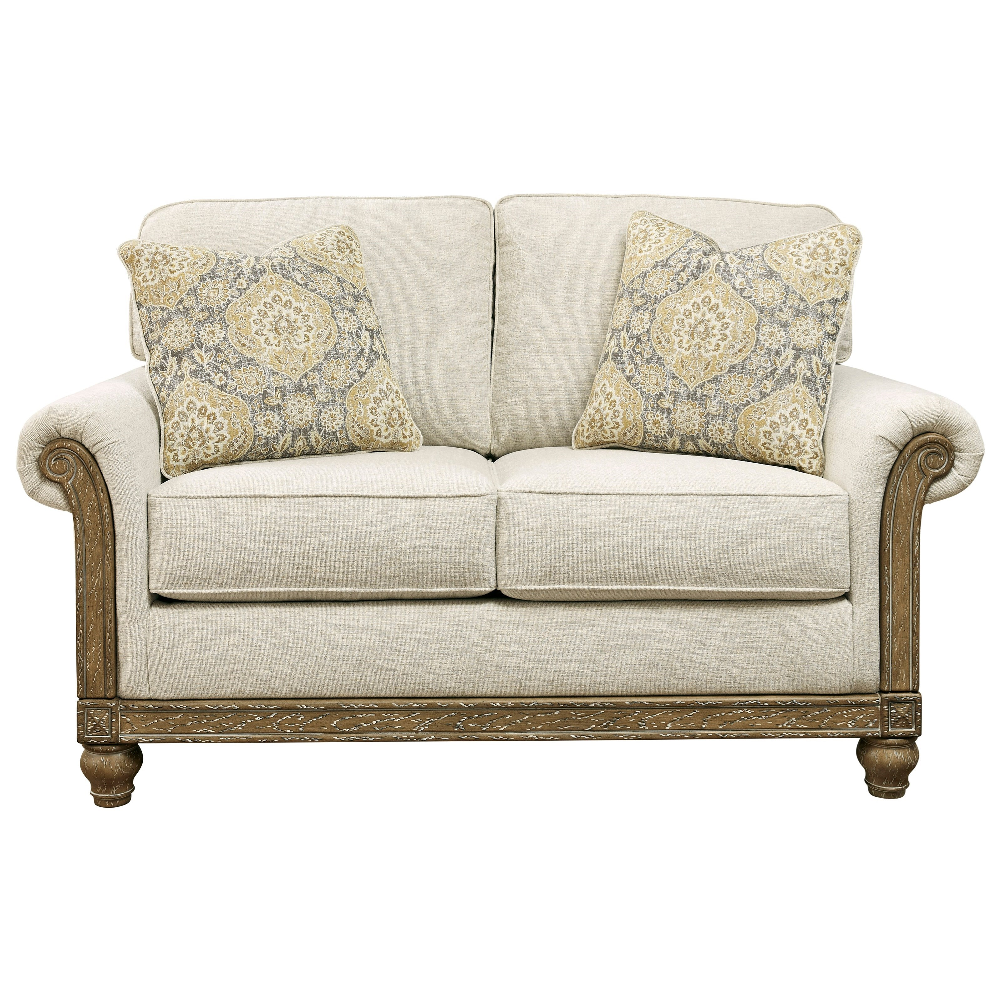 Stoneleigh  Loveseat by Benchcraft at Beck's Furniture