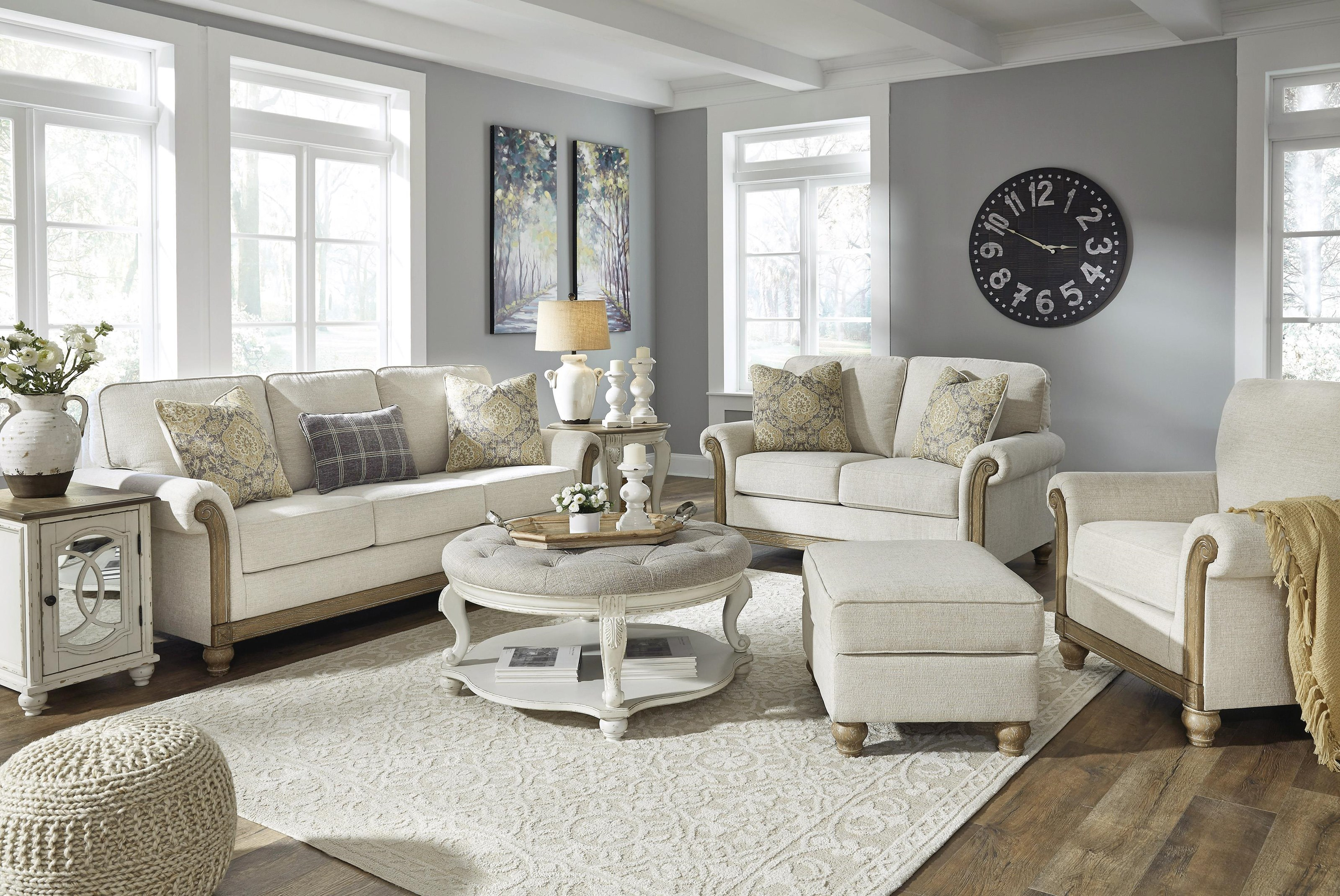 Stoneleigh Sofa, Loveseat and Chair Set by Benchcraft at Sam Levitz Furniture