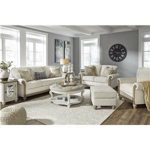 Alabaster Sofa, Loveseat and Chair Set