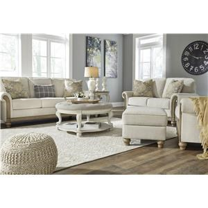 4 Piece Sofa, Loveseat, Chair & Ottoman Set