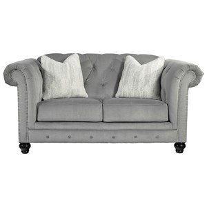 Loveseat with Luxurious Look