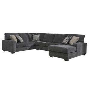 Contemporary Sectional with Left Chaise