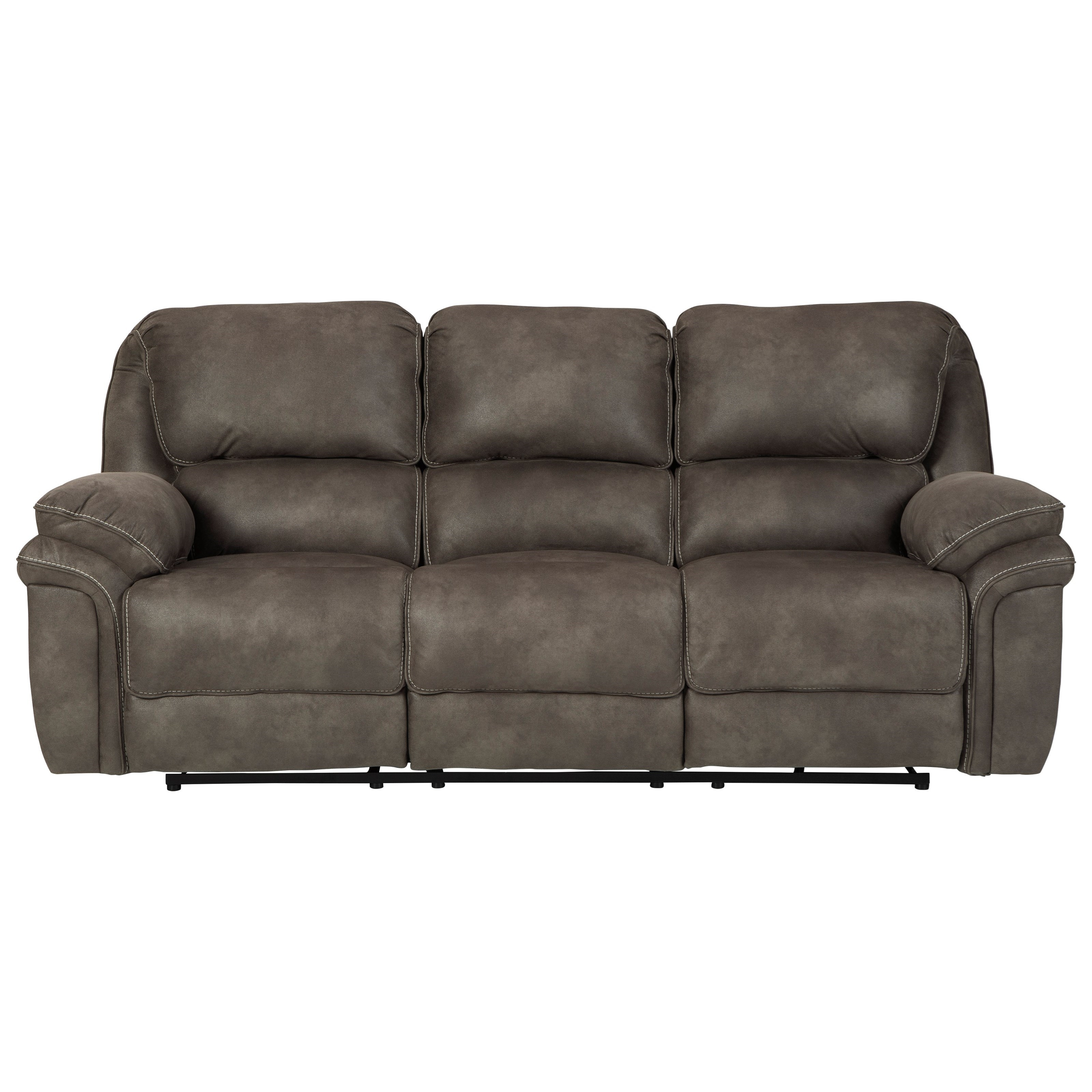 Trementon Reclining Sofa by Benchcraft at Miller Waldrop Furniture and Decor