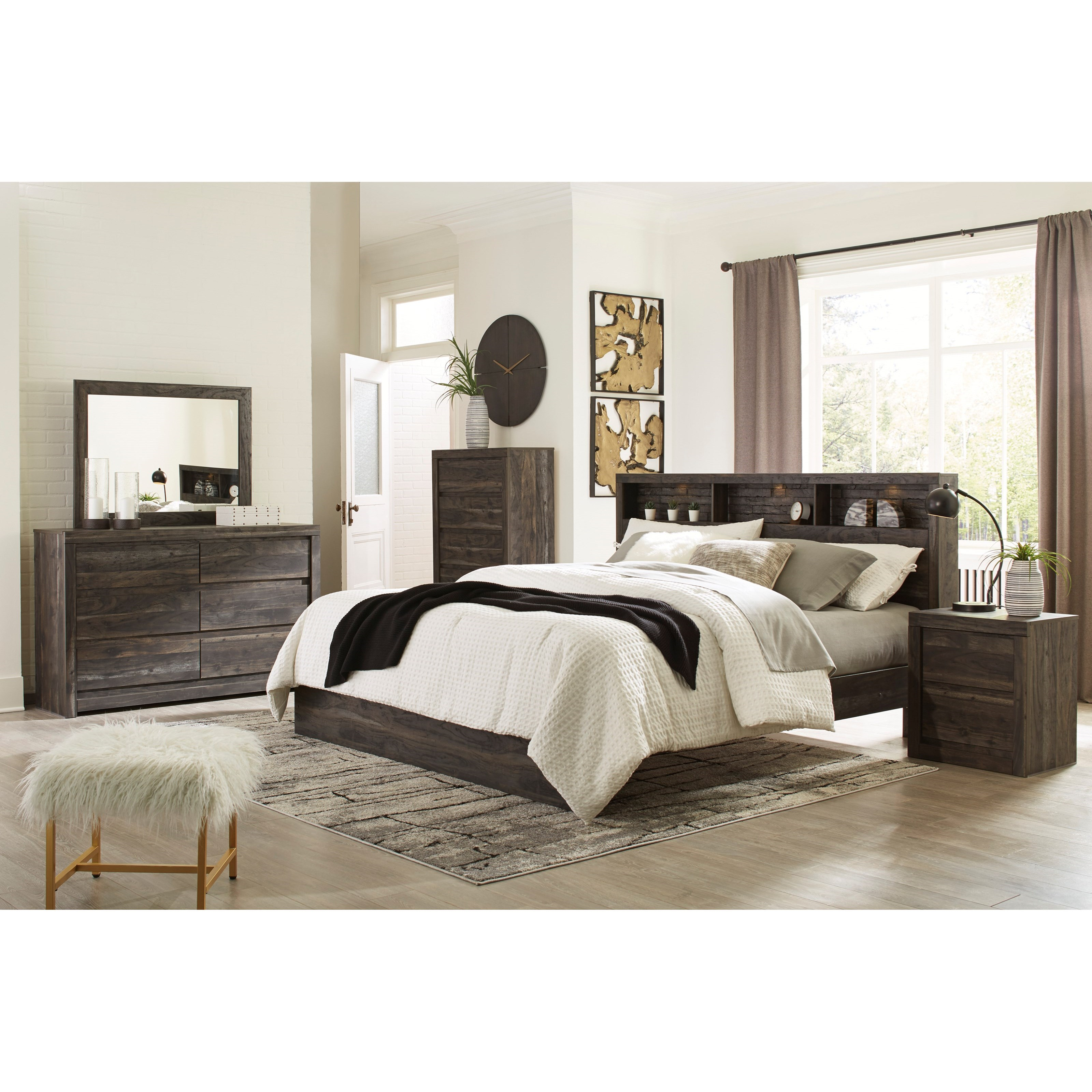 Vay Bay King Bedroom Group by Benchcraft at Walker's Furniture