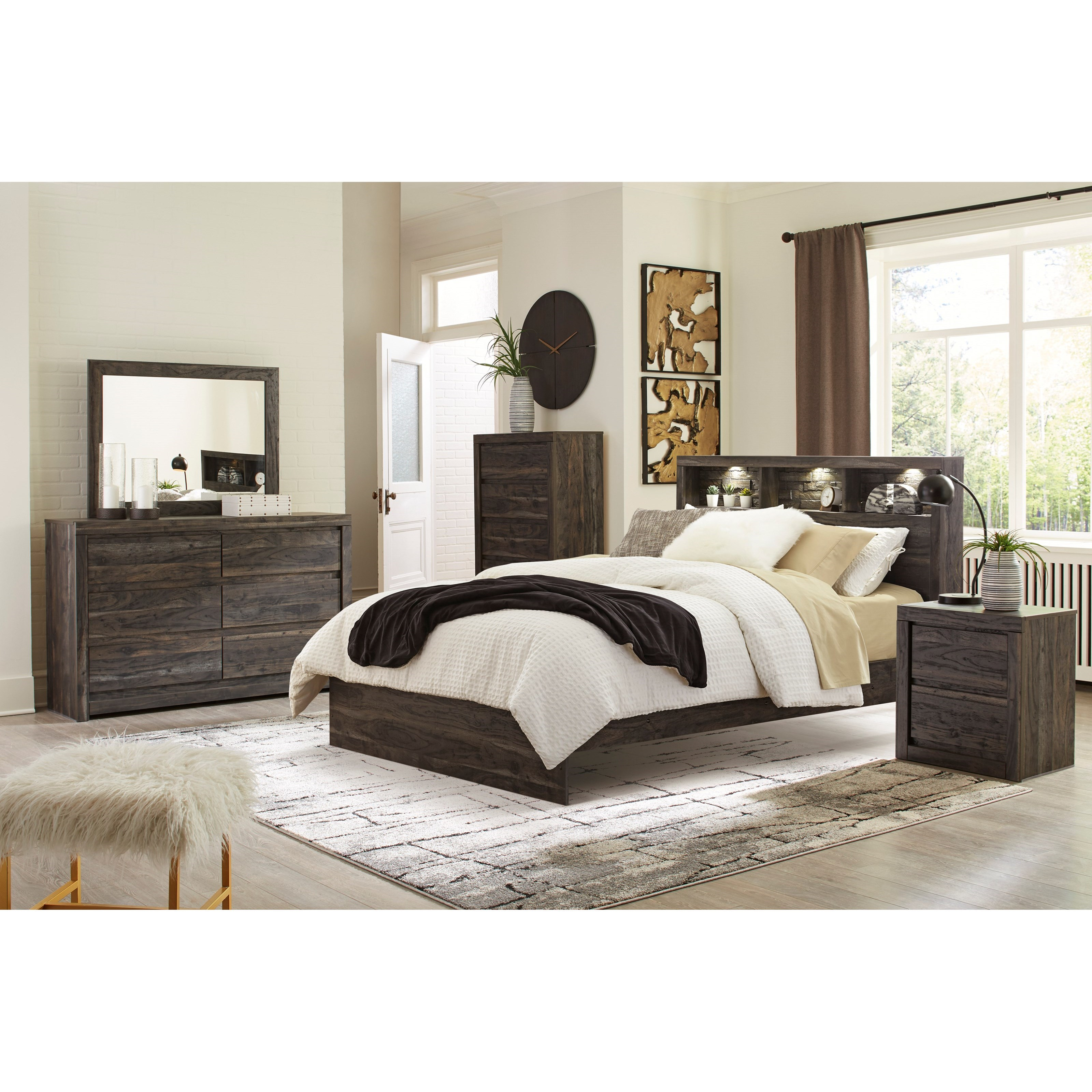 Vay Bay Queen Bedroom Group by Benchcraft at Walker's Furniture