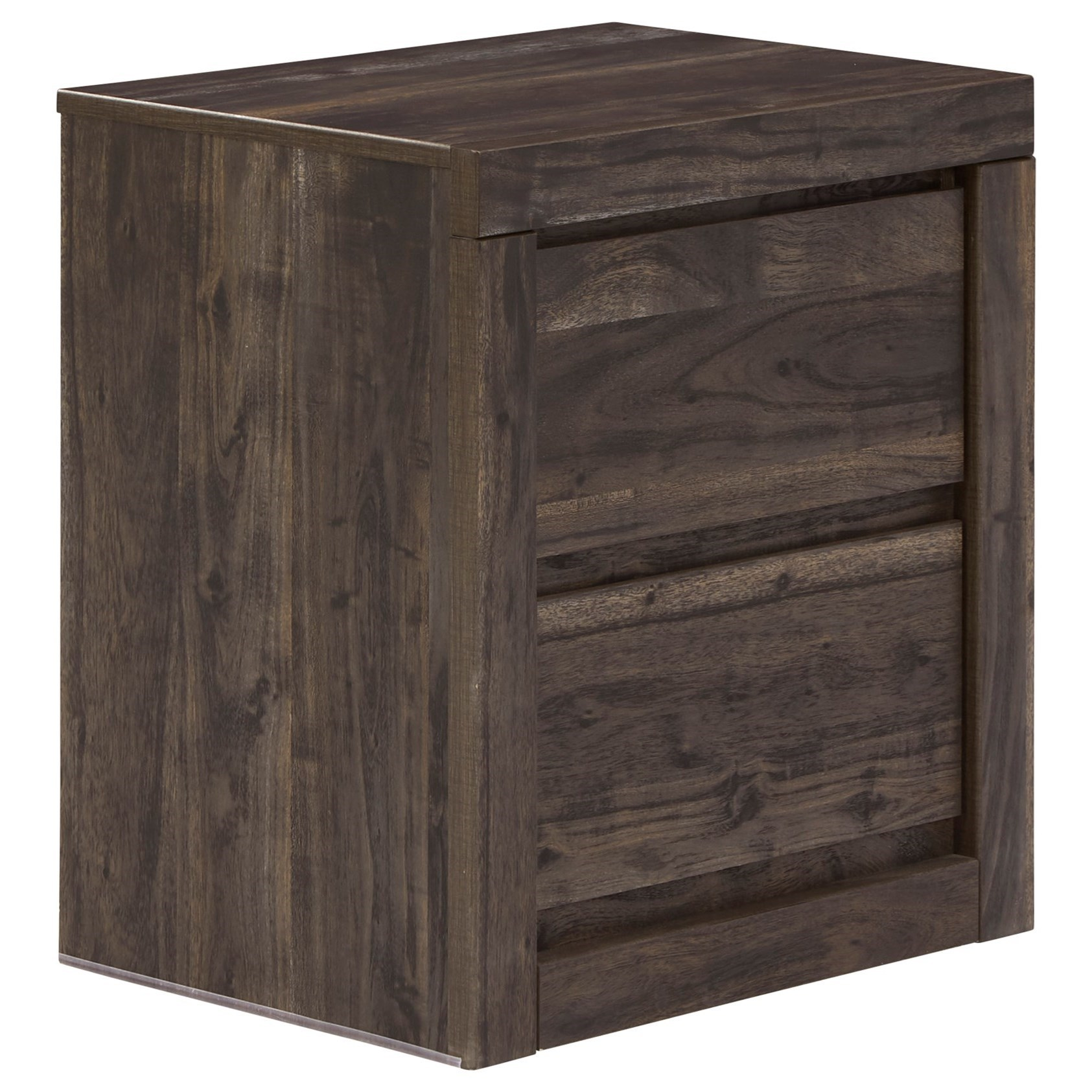 Vay Bay 2-Drawer Nightstand by Benchcraft at Simply Home by Lindy's