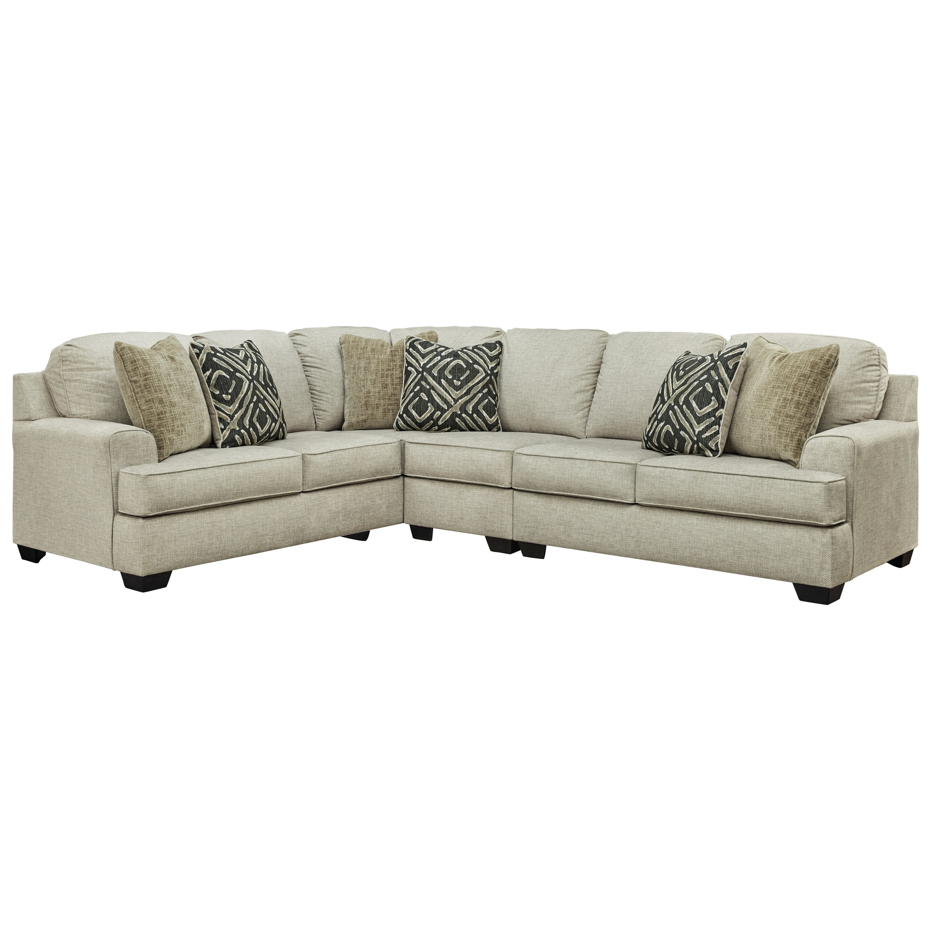 Wellhaven 3-Piece Sectional by Benchcraft at Walker's Furniture