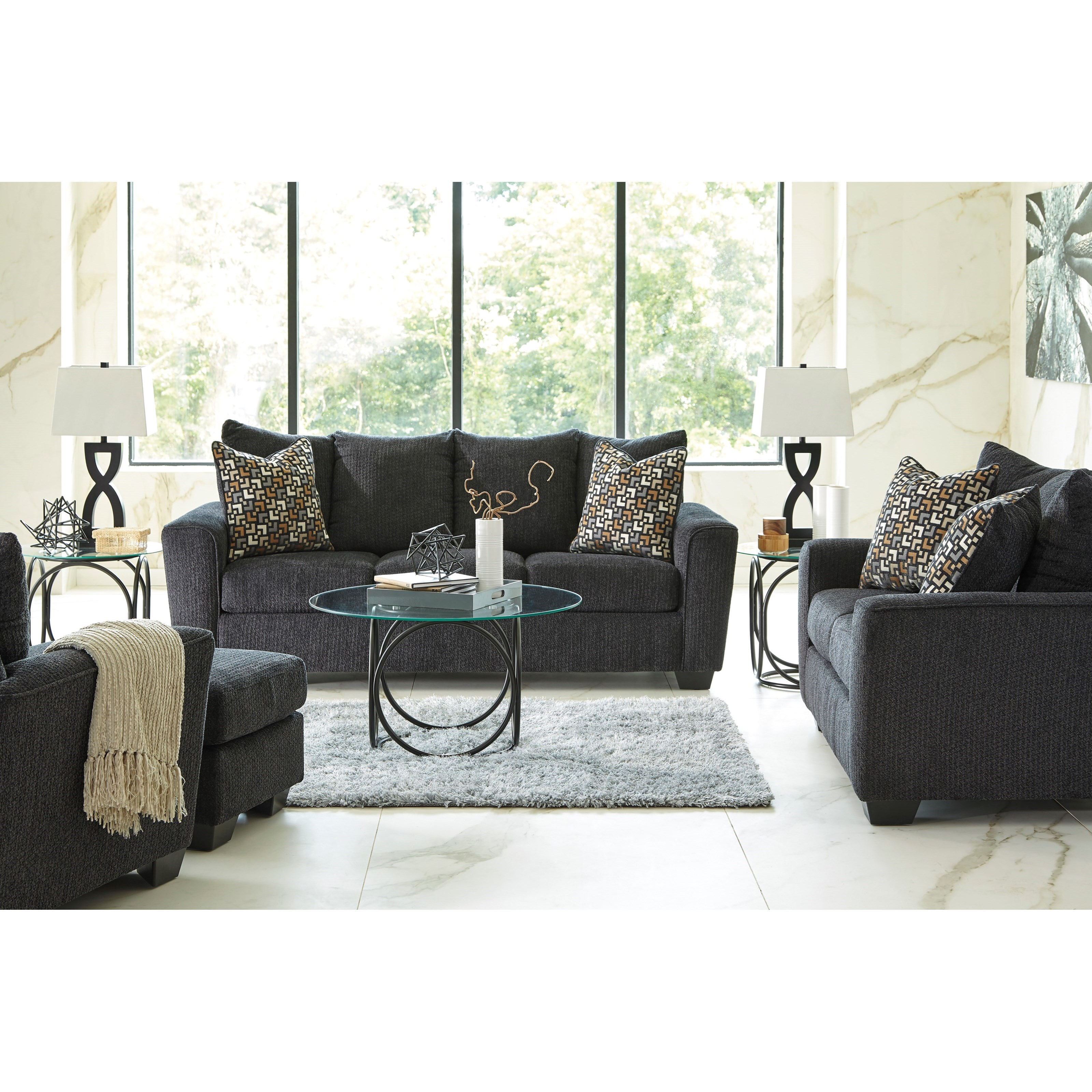 Wixon Stationary Living Room Group by Benchcraft at Furniture Barn
